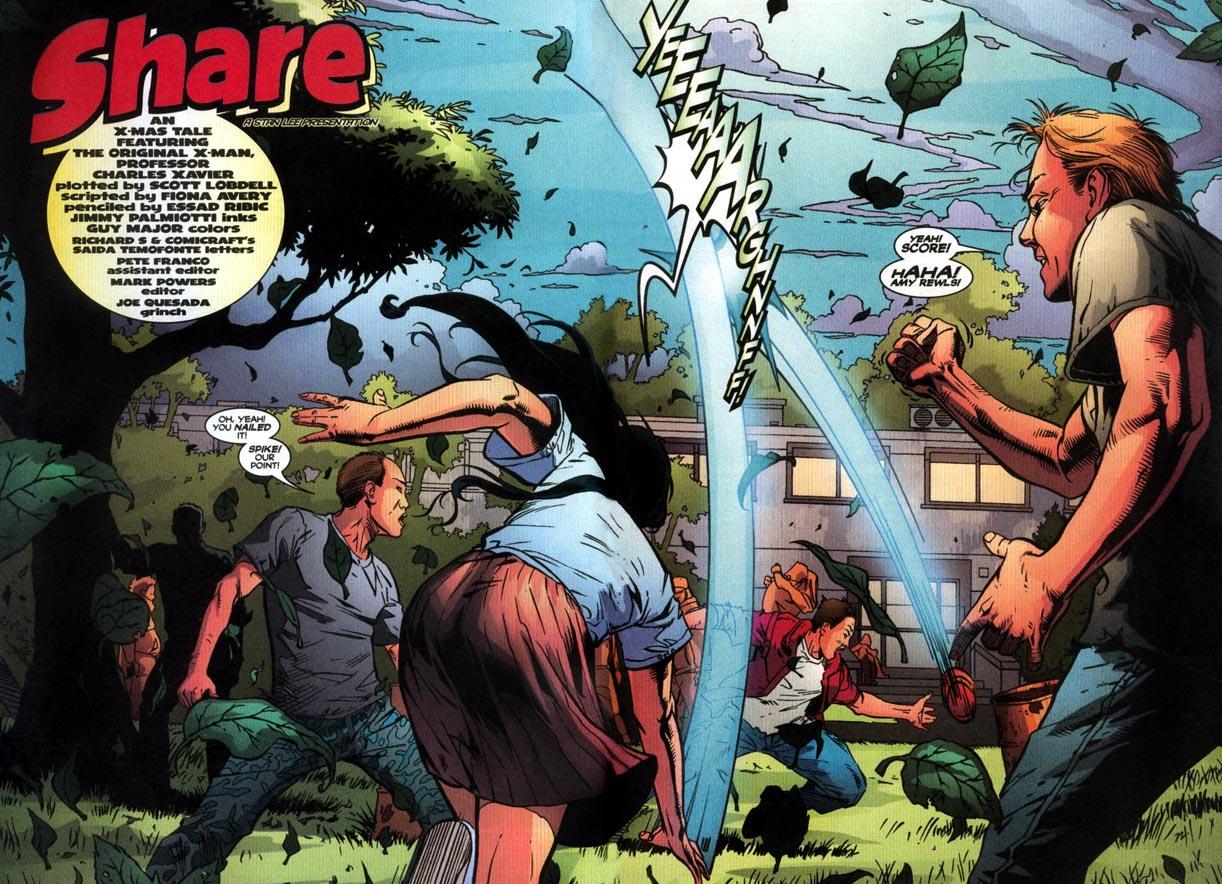 Read online Uncanny X-Men (1963) comic -  Issue # _Annual 2000 - 3