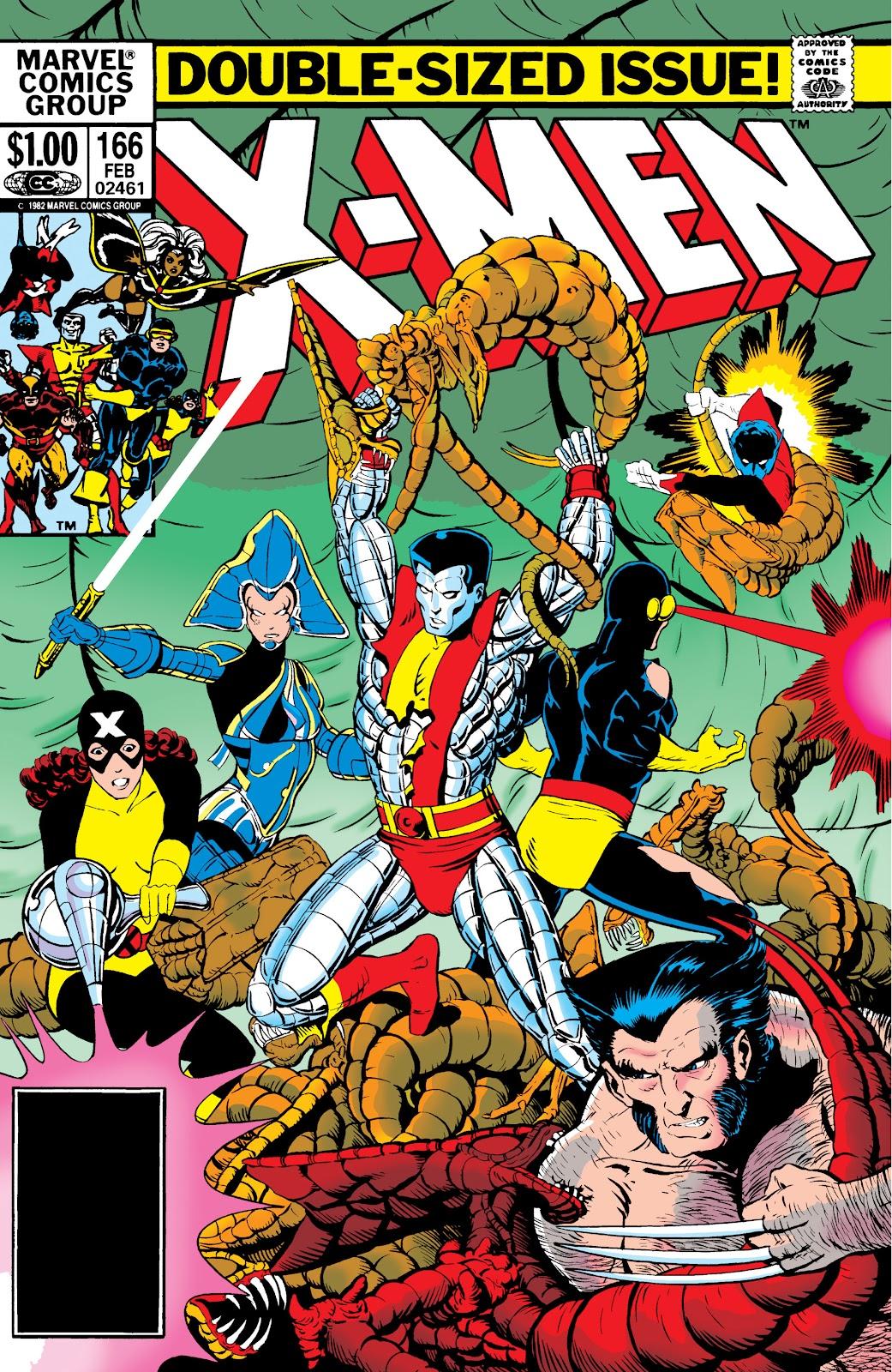 Uncanny X-Men (1963) 166 Page 1