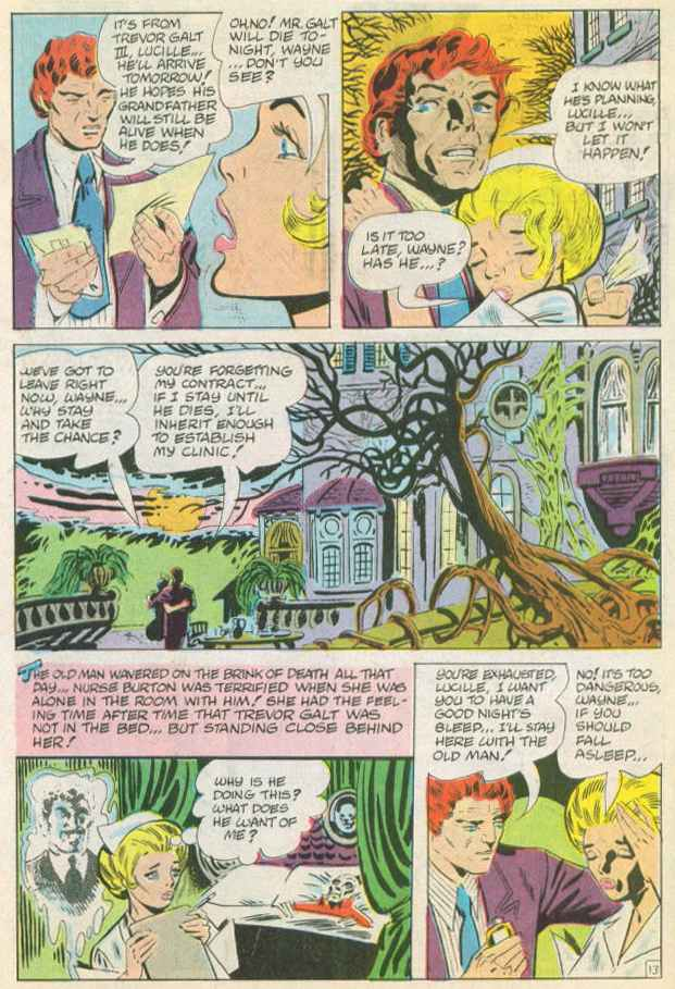 Read online Beyond the Grave (1983) comic -  Issue #14 - 22