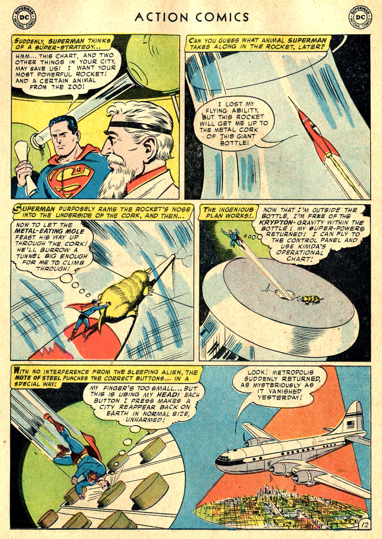 Read online Action Comics (1938) comic -  Issue #242 - 14