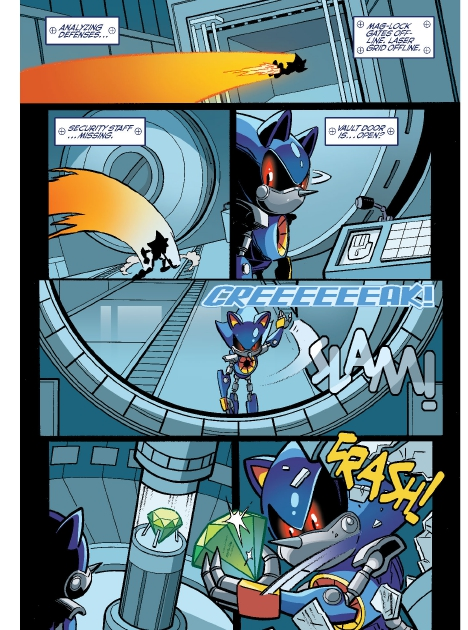 Read online Sonic Comics Spectacular: Speed of Sound comic -  Issue # Full - 69