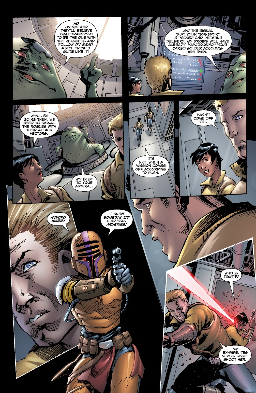 Read online Star Wars Legends: Legacy - Epic Collection comic -  Issue # TPB 2 (Part 5) - 26