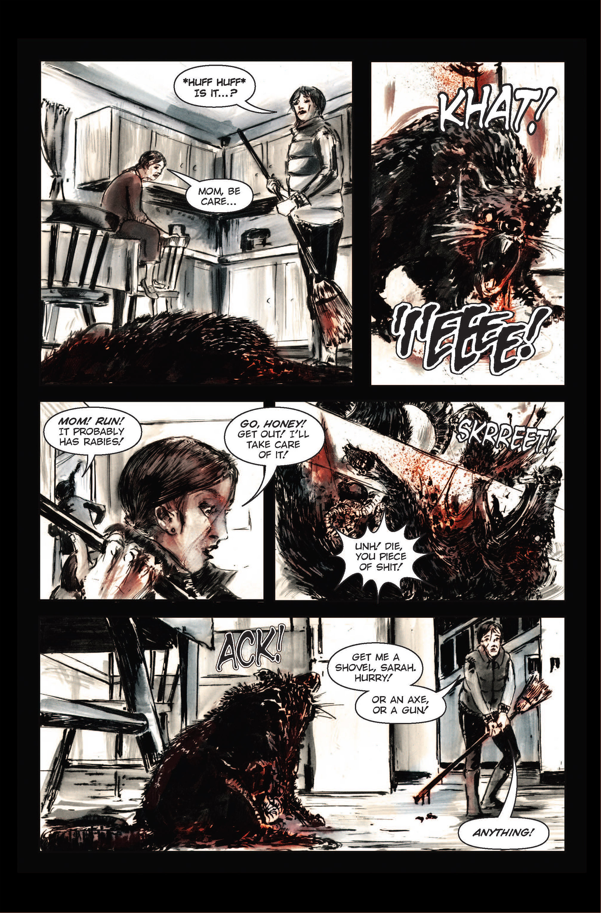 Read online The Final Plague comic -  Issue #1 - 5