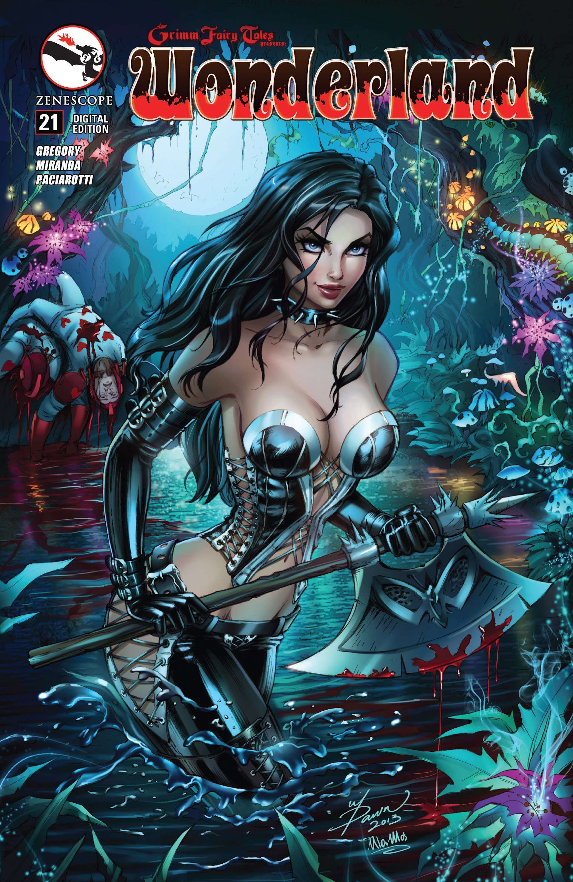Grimm Fairy Tales presents Wonderland 21 Page 1
