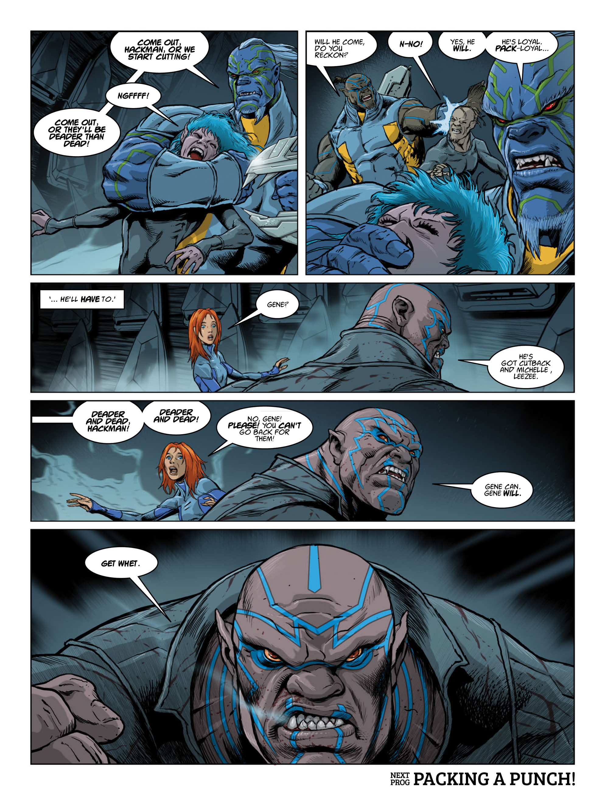 Read online 2000 AD comic -  Issue #2015 - 30