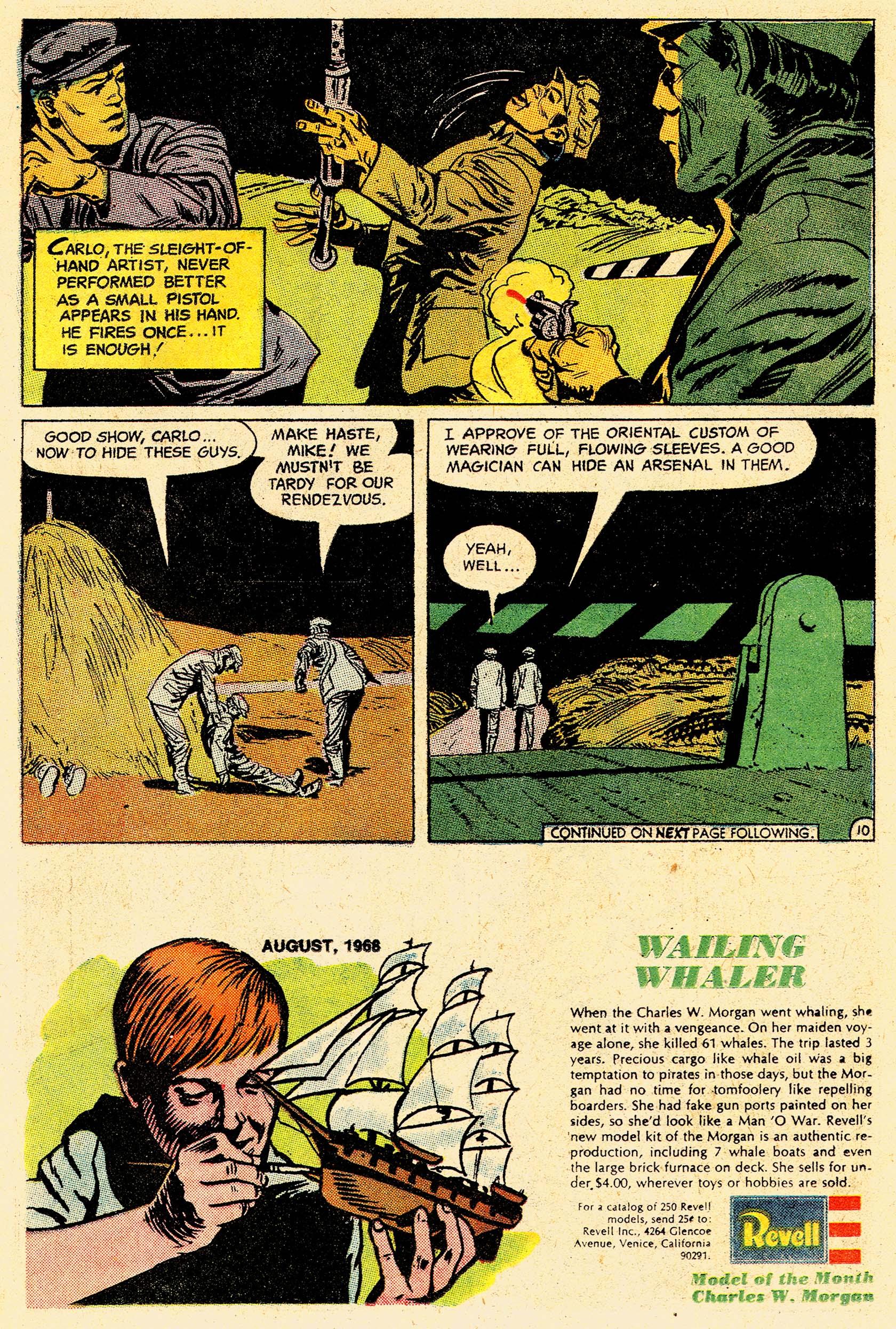 Read online Secret Six (1968) comic -  Issue #4 - 14