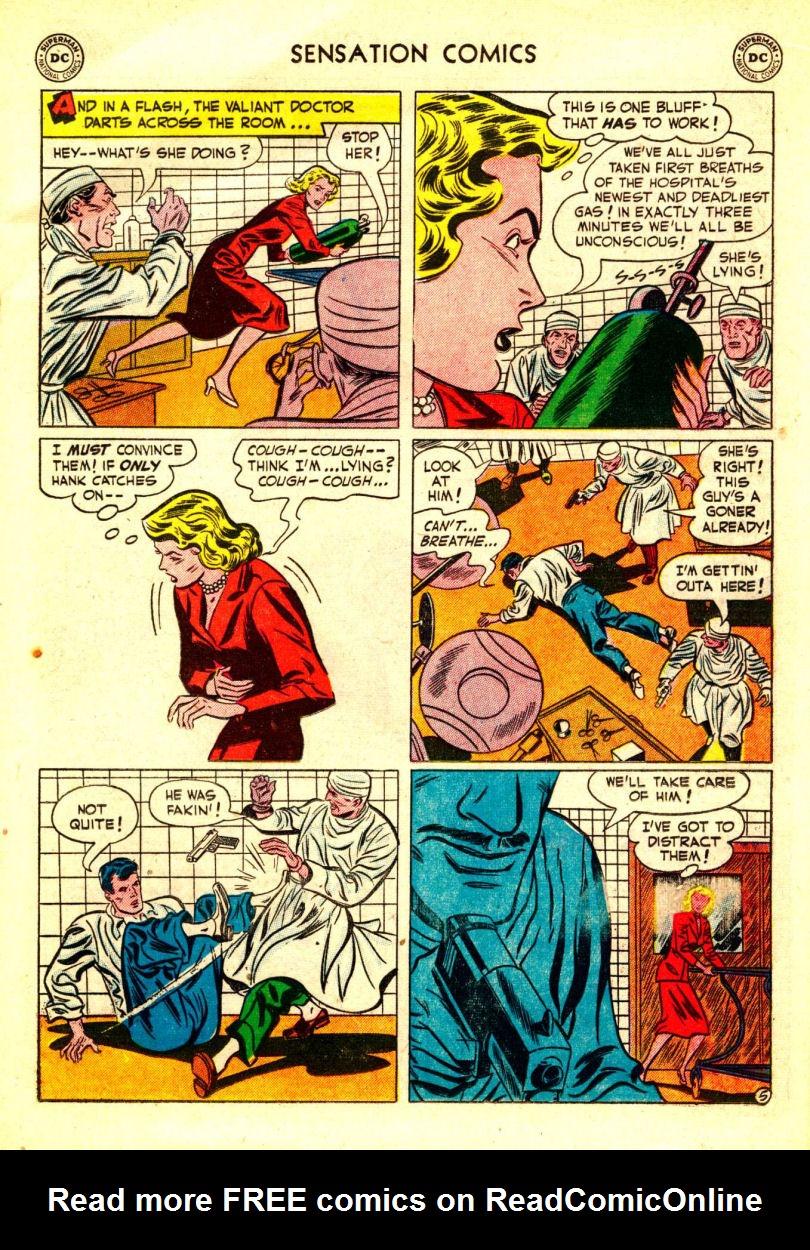 Read online Sensation (Mystery) Comics comic -  Issue #106 - 19