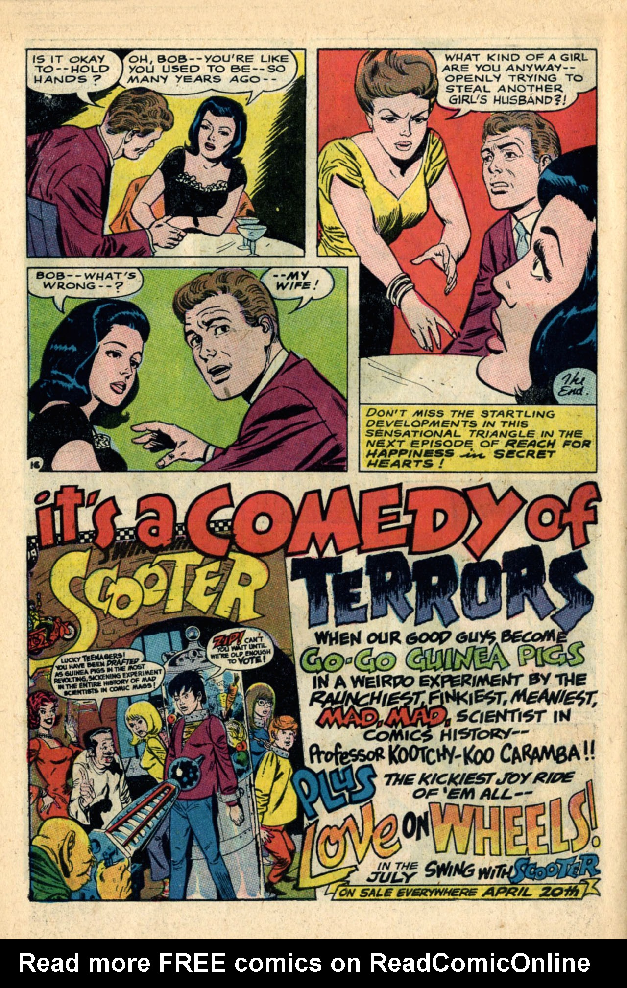 Read online Secret Hearts comic -  Issue #120 - 34