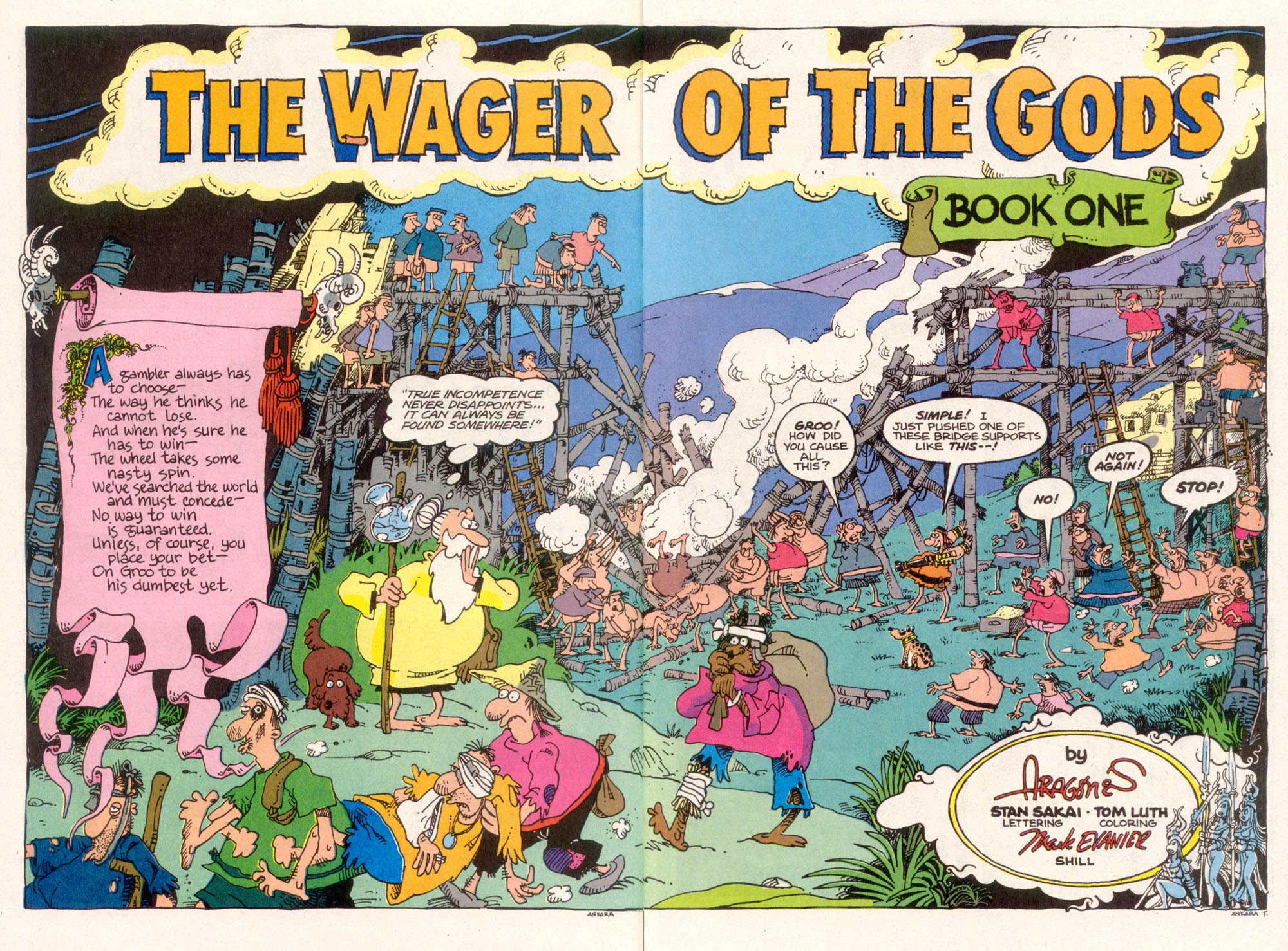 Read online Sergio Aragonés Groo the Wanderer comic -  Issue #96 - 4