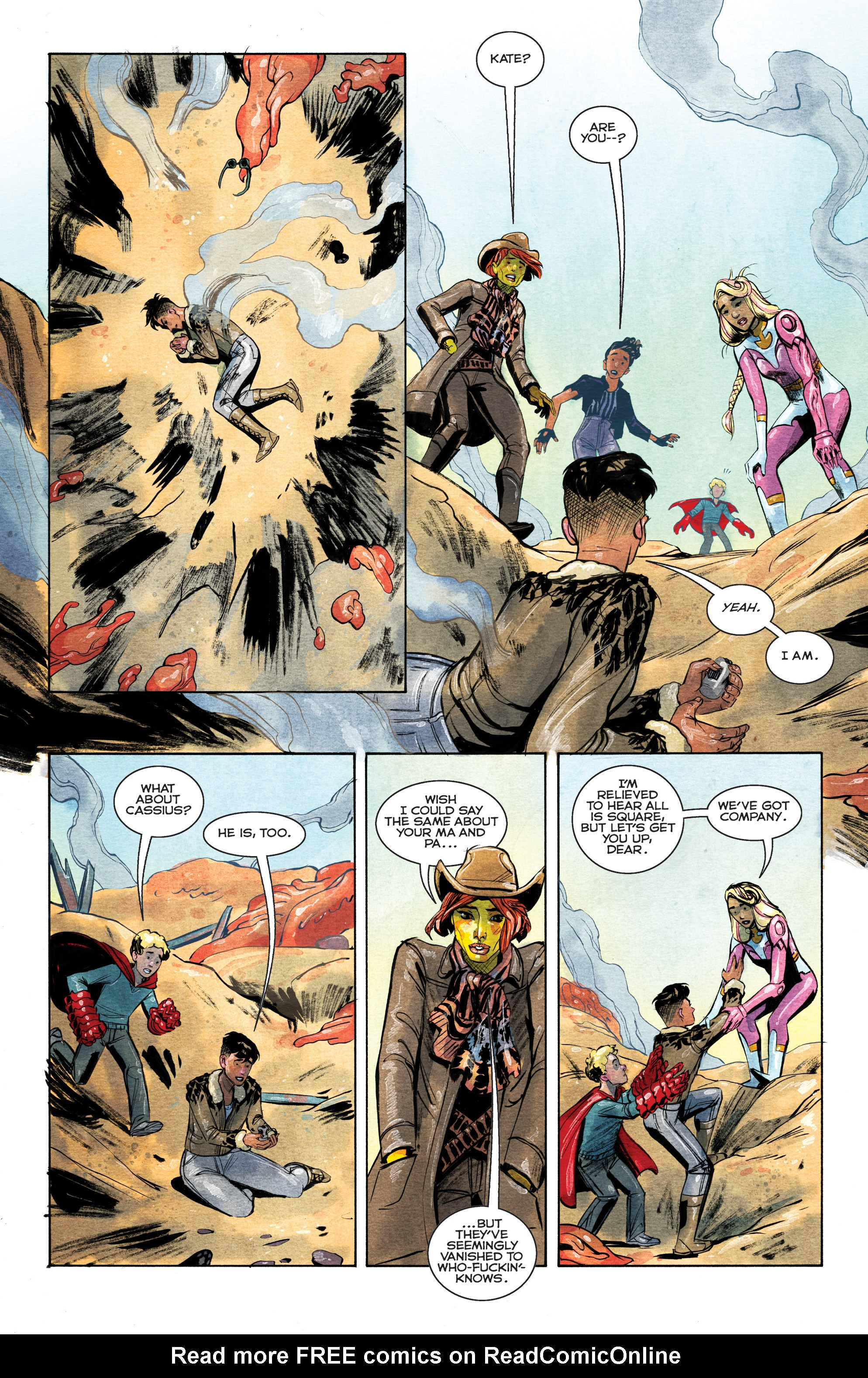 Read online Shutter comic -  Issue #28 - 14