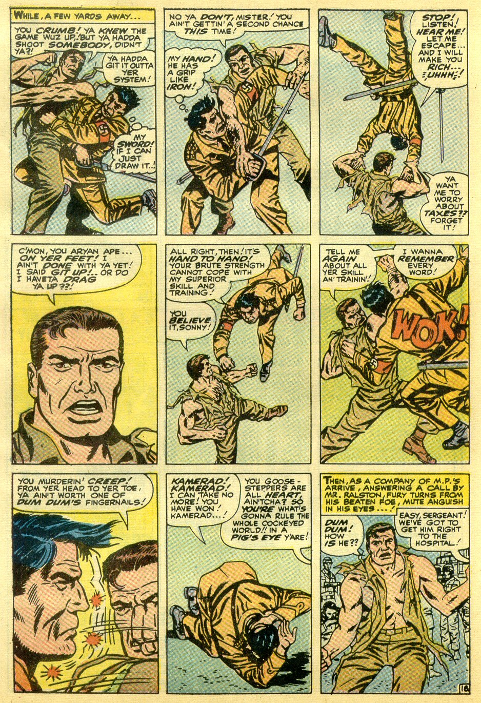 Read online Sgt. Fury comic -  Issue #82 - 28