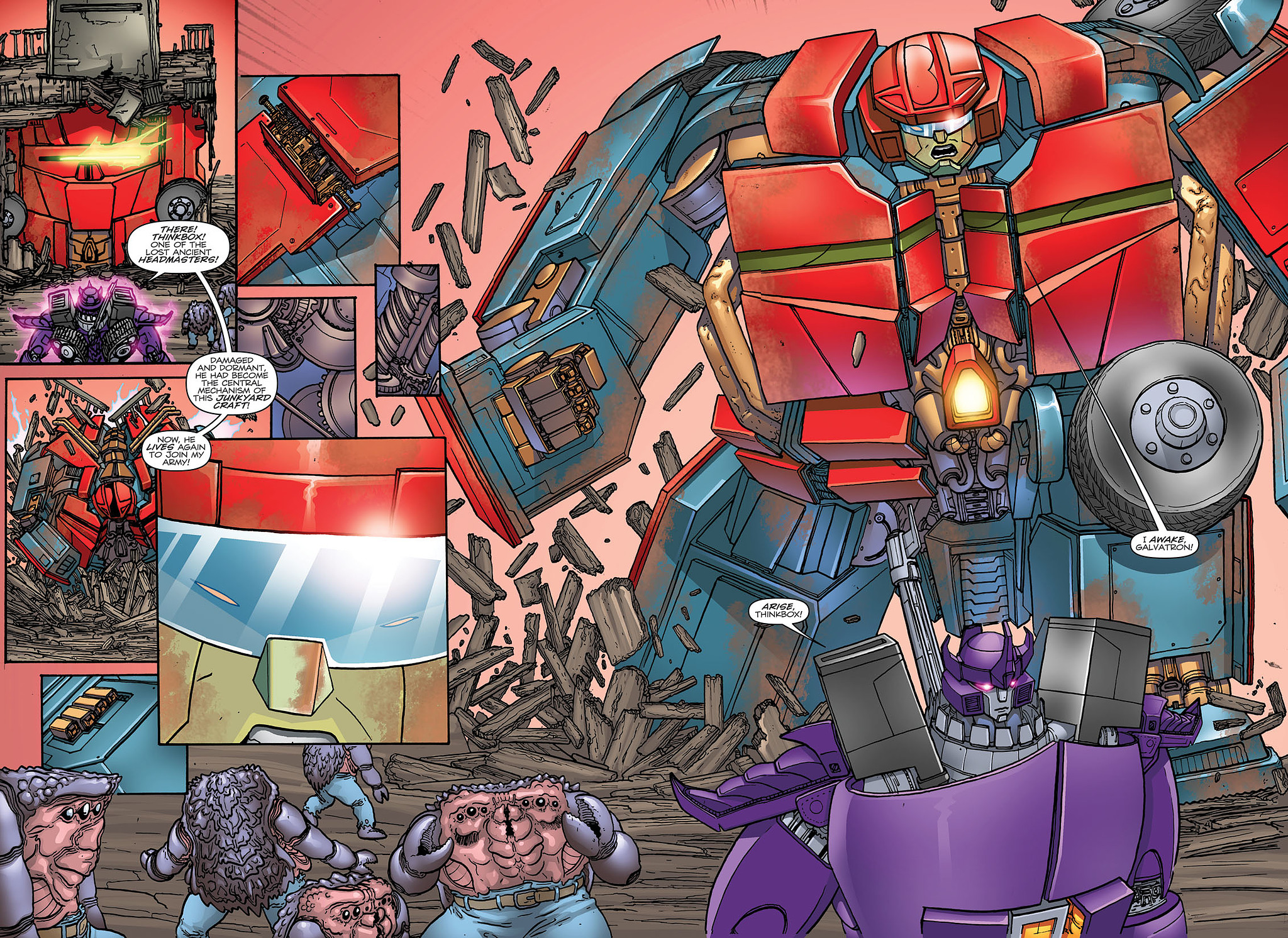 Read online Transformers: Heart of Darkness comic -  Issue #3 - 12