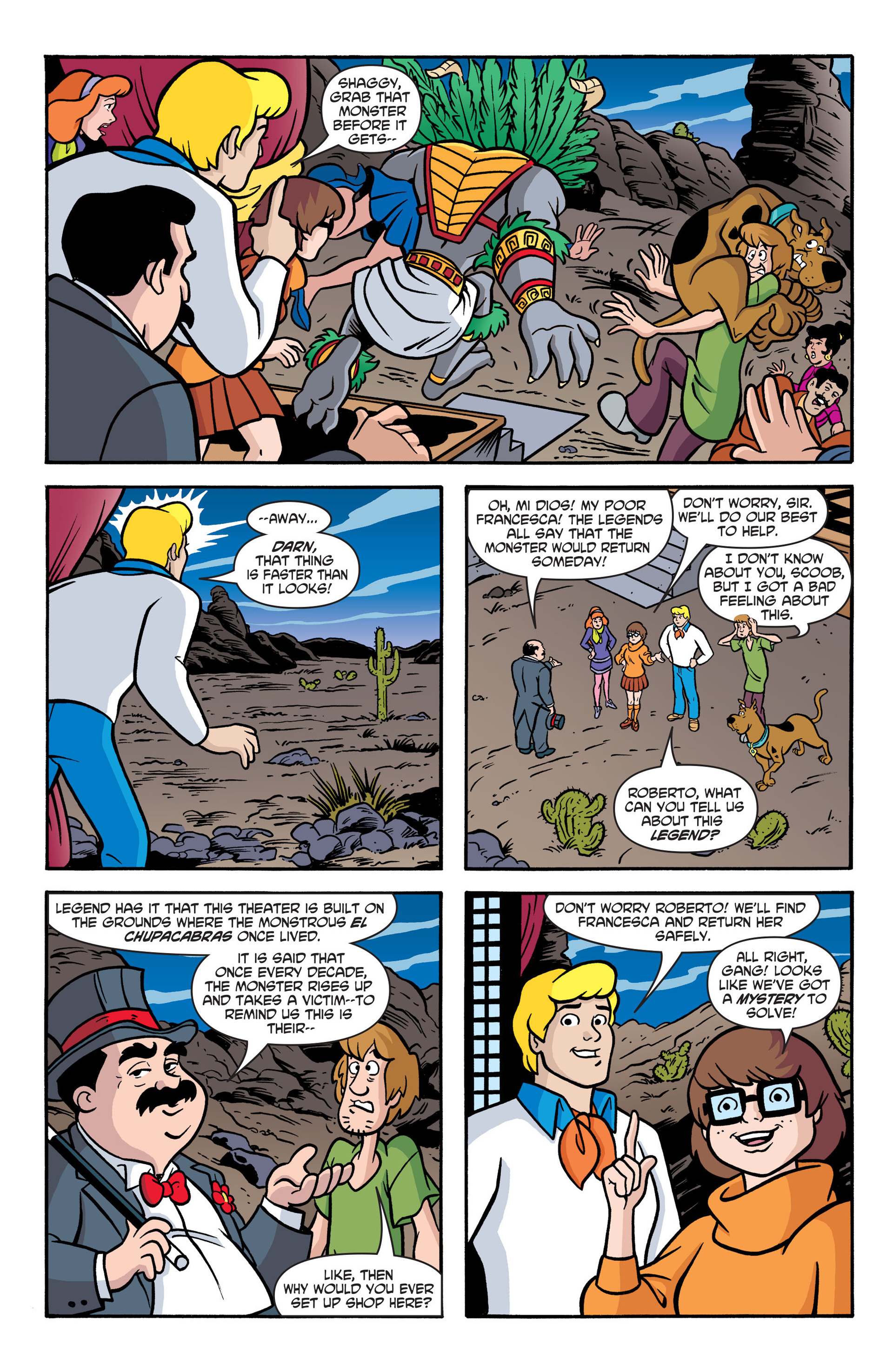 Read online Scooby-Doo: Where Are You? comic -  Issue #41 - 18