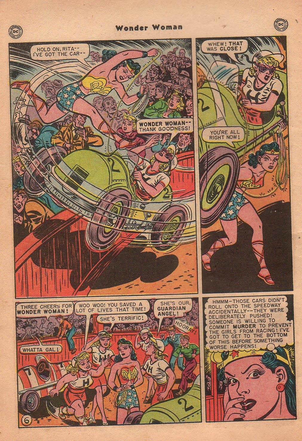 Read online Wonder Woman (1942) comic -  Issue #42 - 9