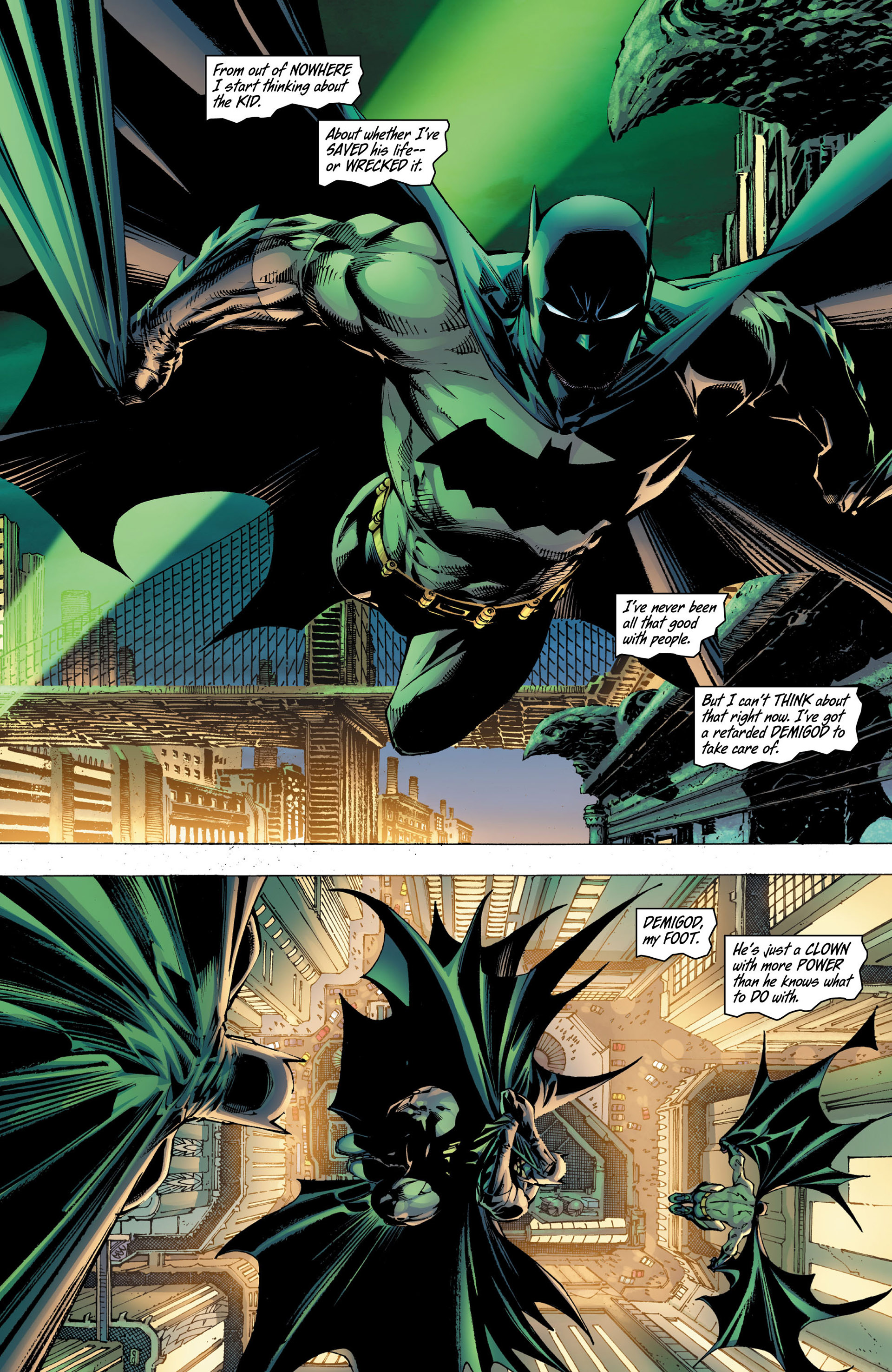 Read online All Star Batman & Robin, The Boy Wonder comic -  Issue #8 - 18