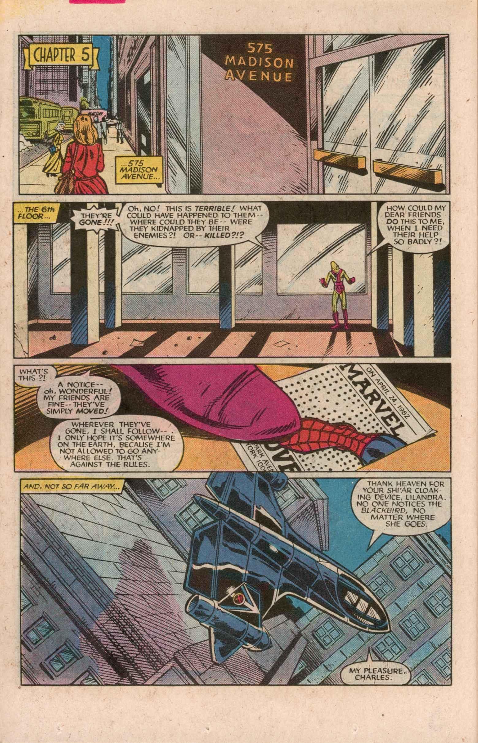 Read online Uncanny X-Men (1963) comic -  Issue # _Annual 7 - 25