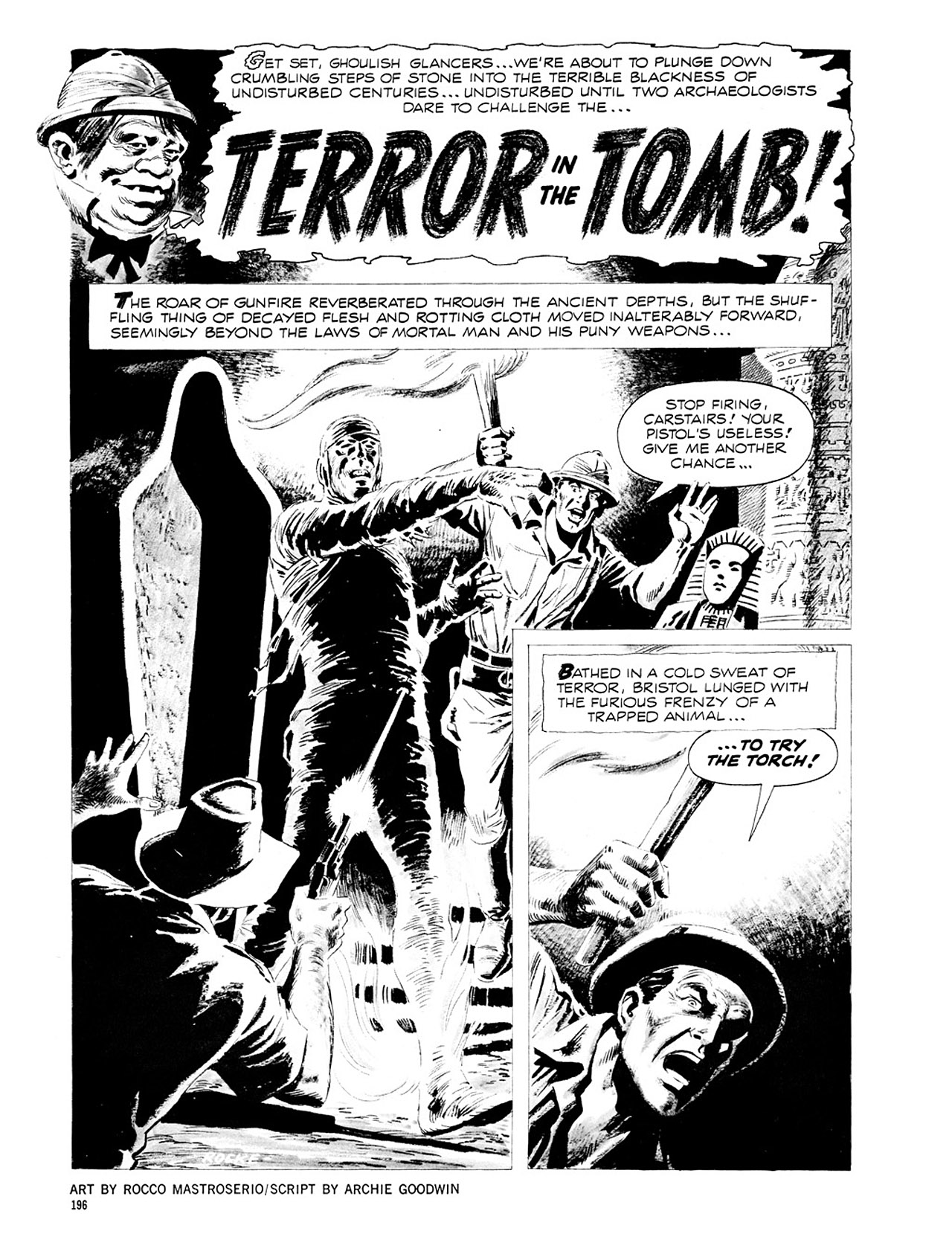Read online Eerie Archives comic -  Issue # TPB 2 - 197