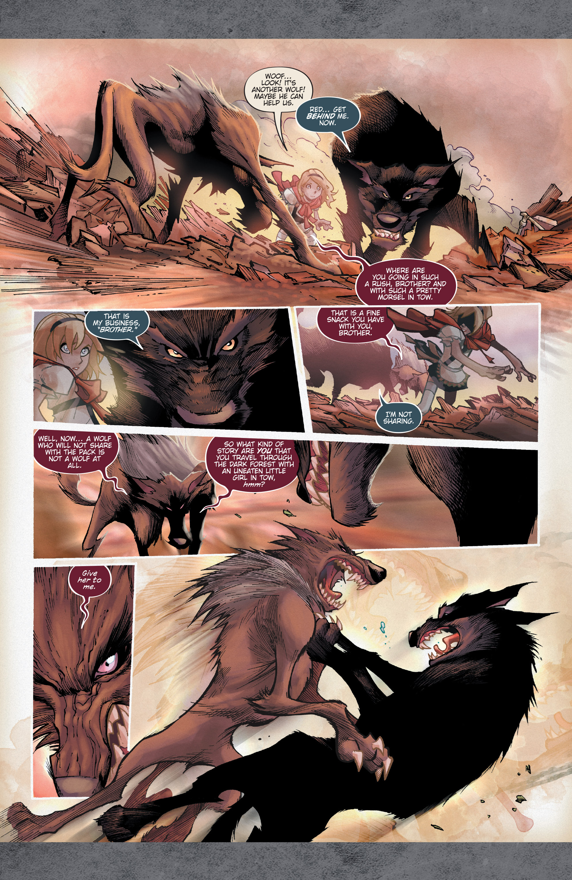 Read online Fairy Quest: Outcasts comic -  Issue #1 - 16