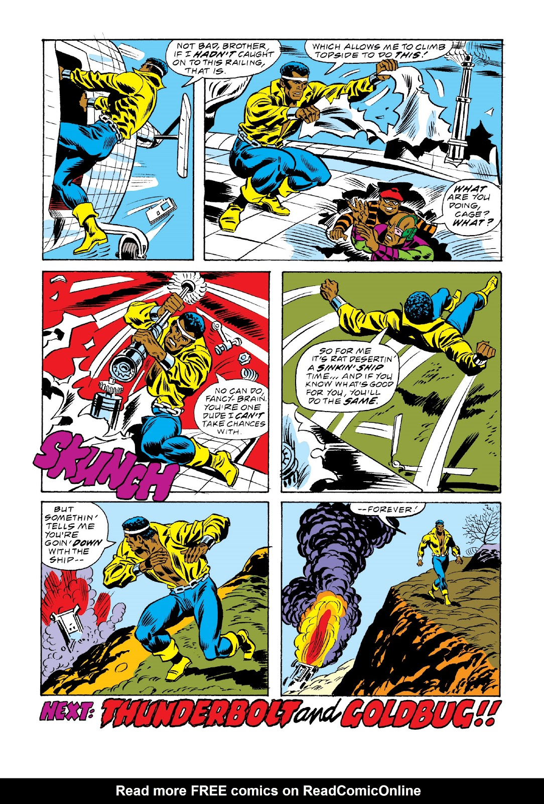 Read online Marvel Masterworks: Luke Cage, Power Man comic -  Issue # TPB 3 (Part 2) - 90