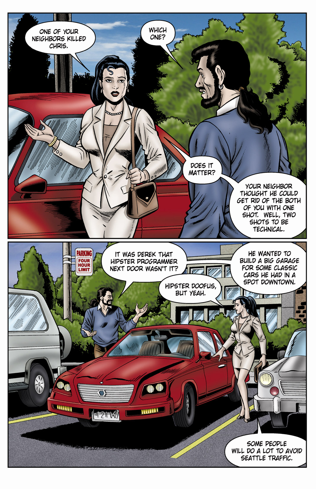 Read online SideChicks comic -  Issue #4 - 36