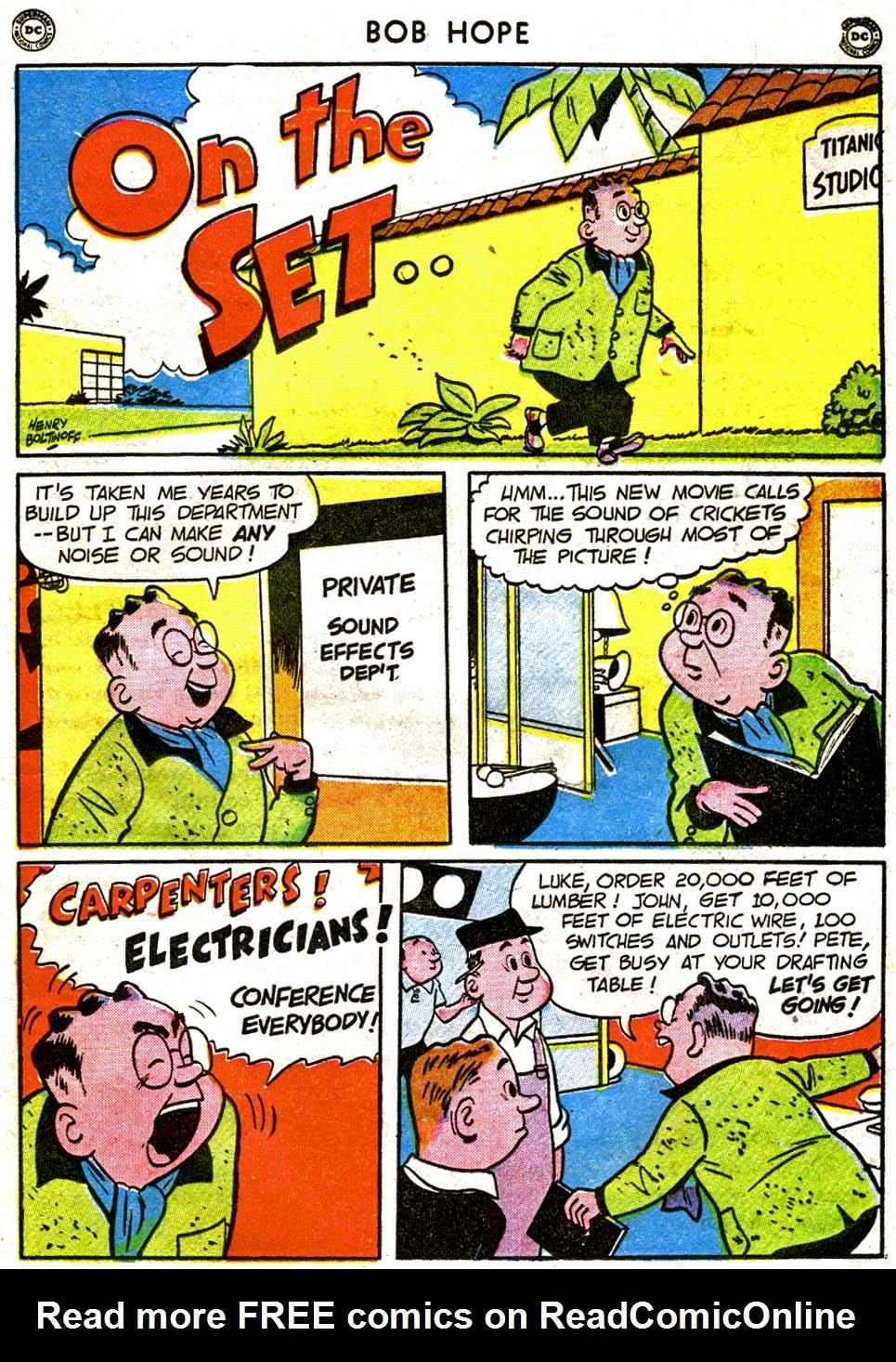 The Adventures of Bob Hope issue 1 - Page 33