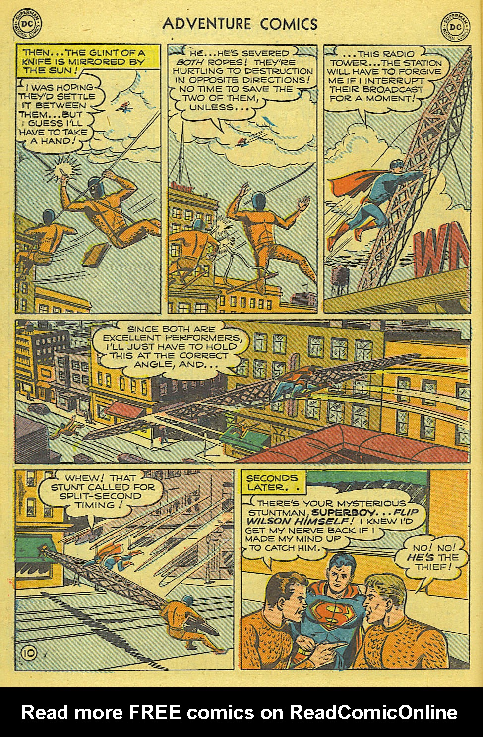 Read online Adventure Comics (1938) comic -  Issue #165 - 11