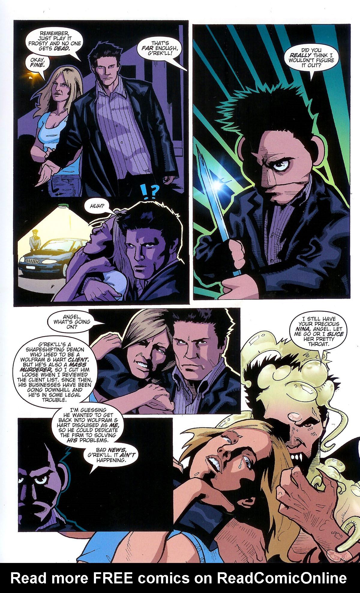 Read online Angel: Masks comic -  Issue # Full - 13