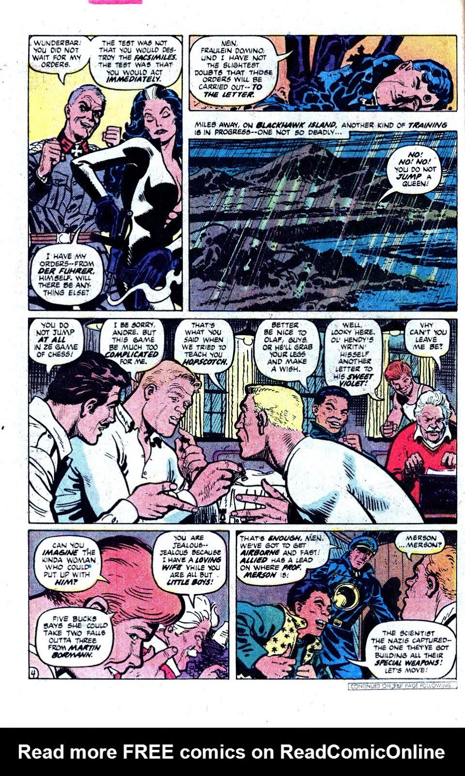 Read online Blackhawk (1957) comic -  Issue #252 - 5