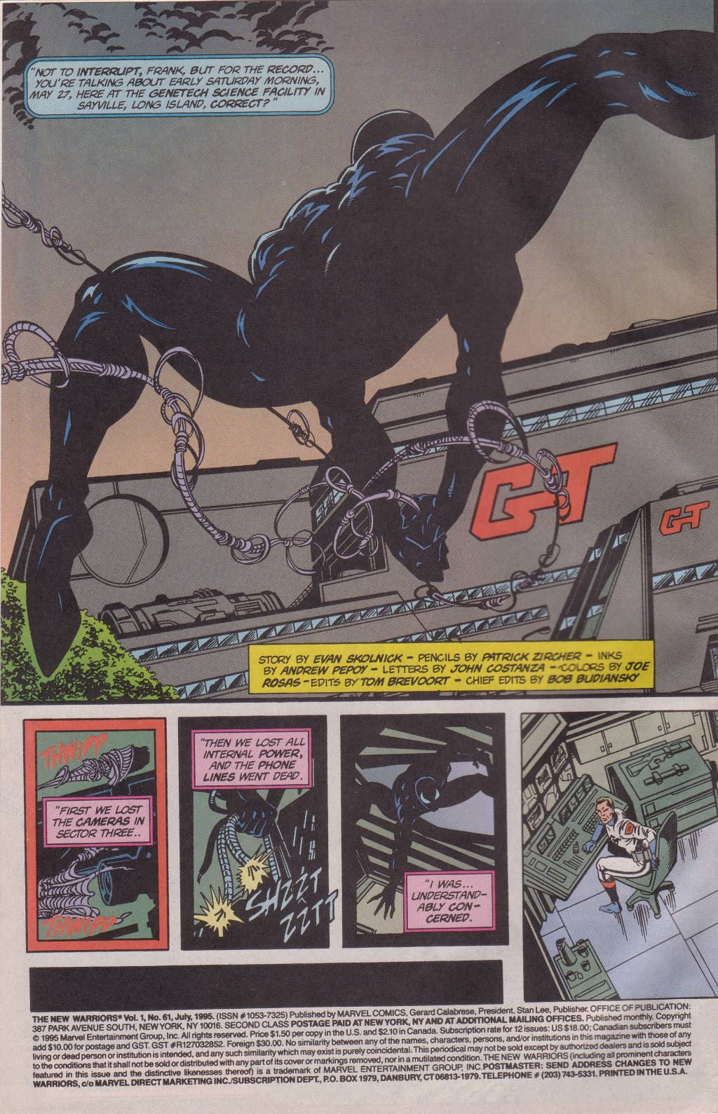 The New Warriors Issue #61 #65 - English 4