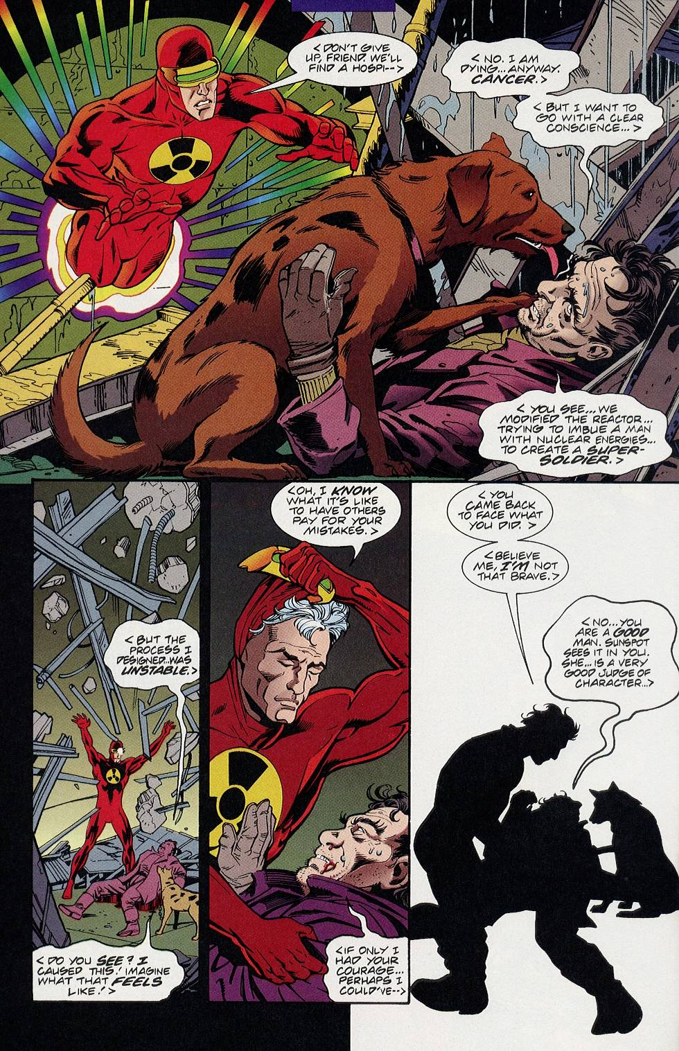 Read online Solar, Man of the Atom comic -  Issue #58 - 21