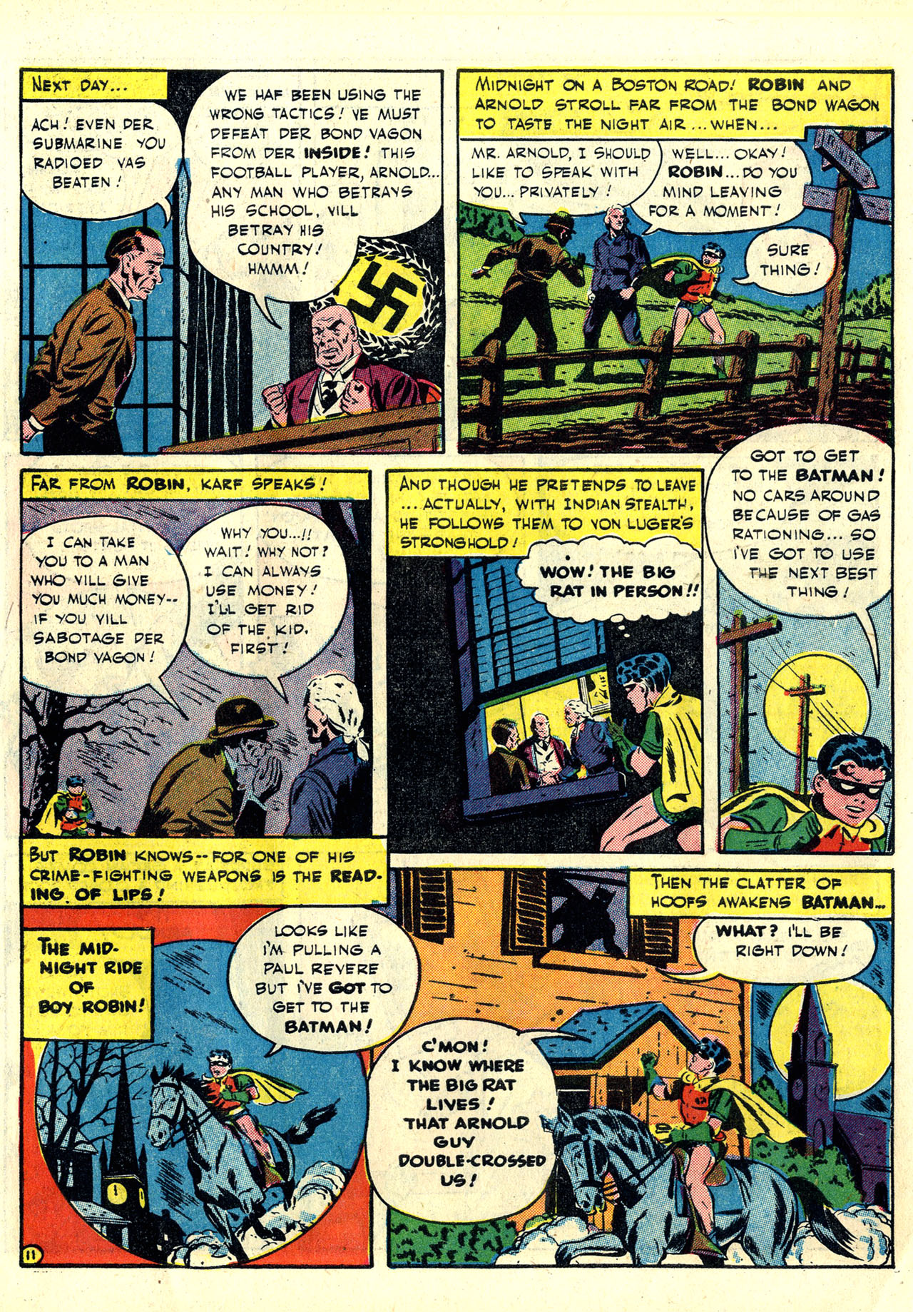 Read online Detective Comics (1937) comic -  Issue #78 - 13