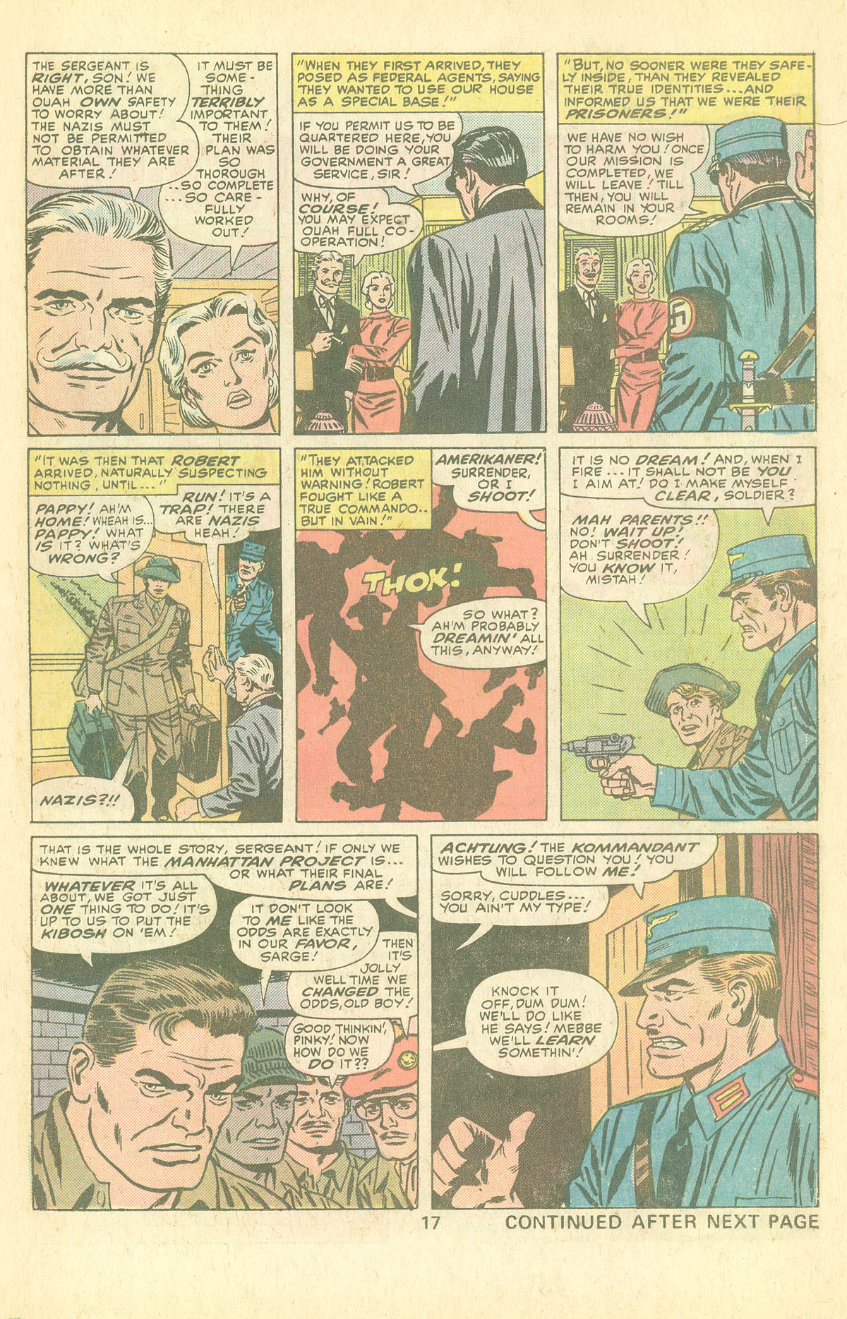 Read online Sgt. Fury comic -  Issue #126 - 19
