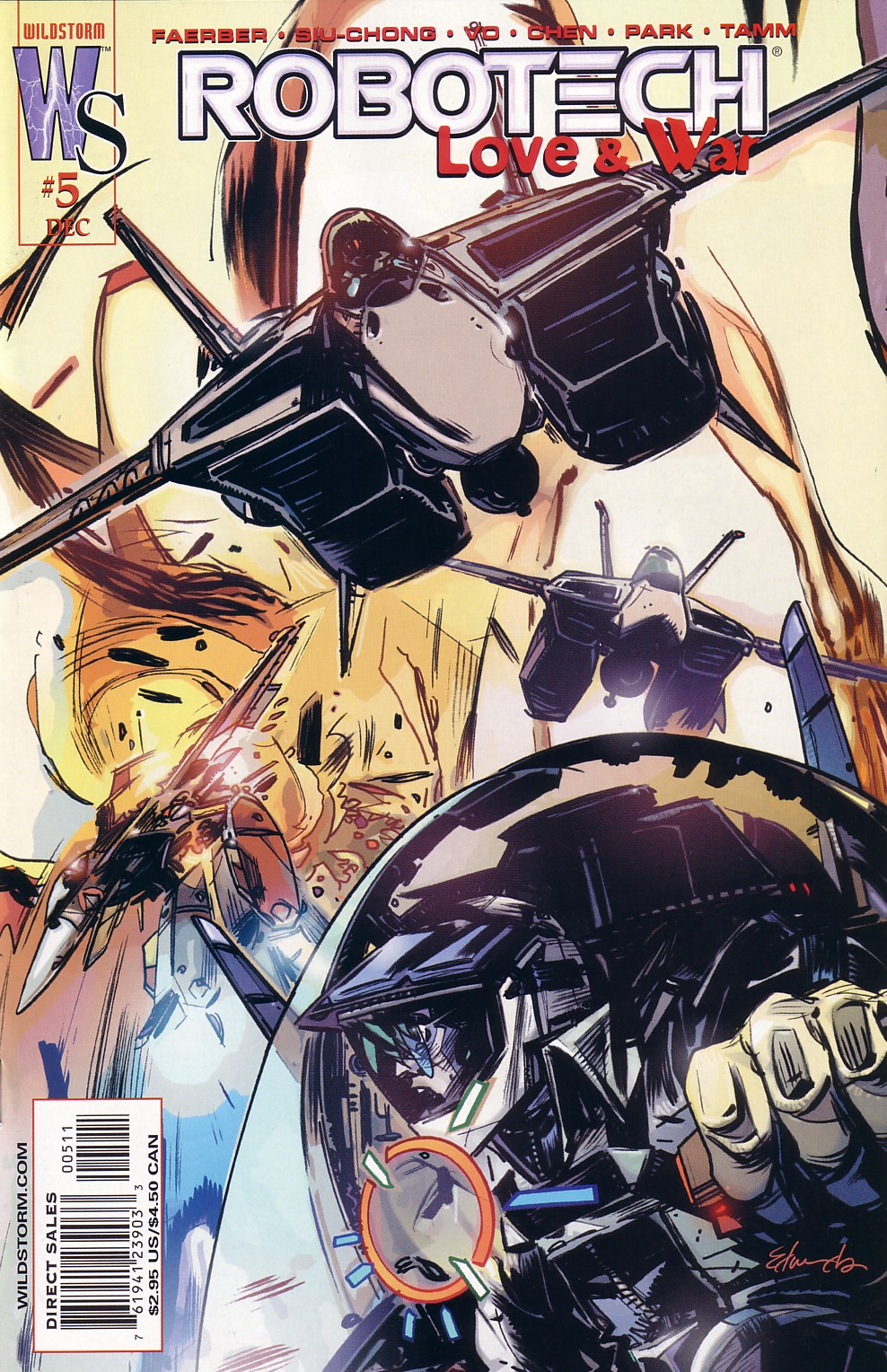 Read online Robotech: Love and War comic -  Issue #5 - 2