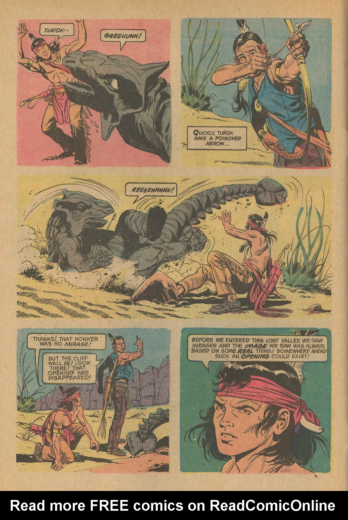 Read online Turok, Son of Stone comic -  Issue #83 - 4