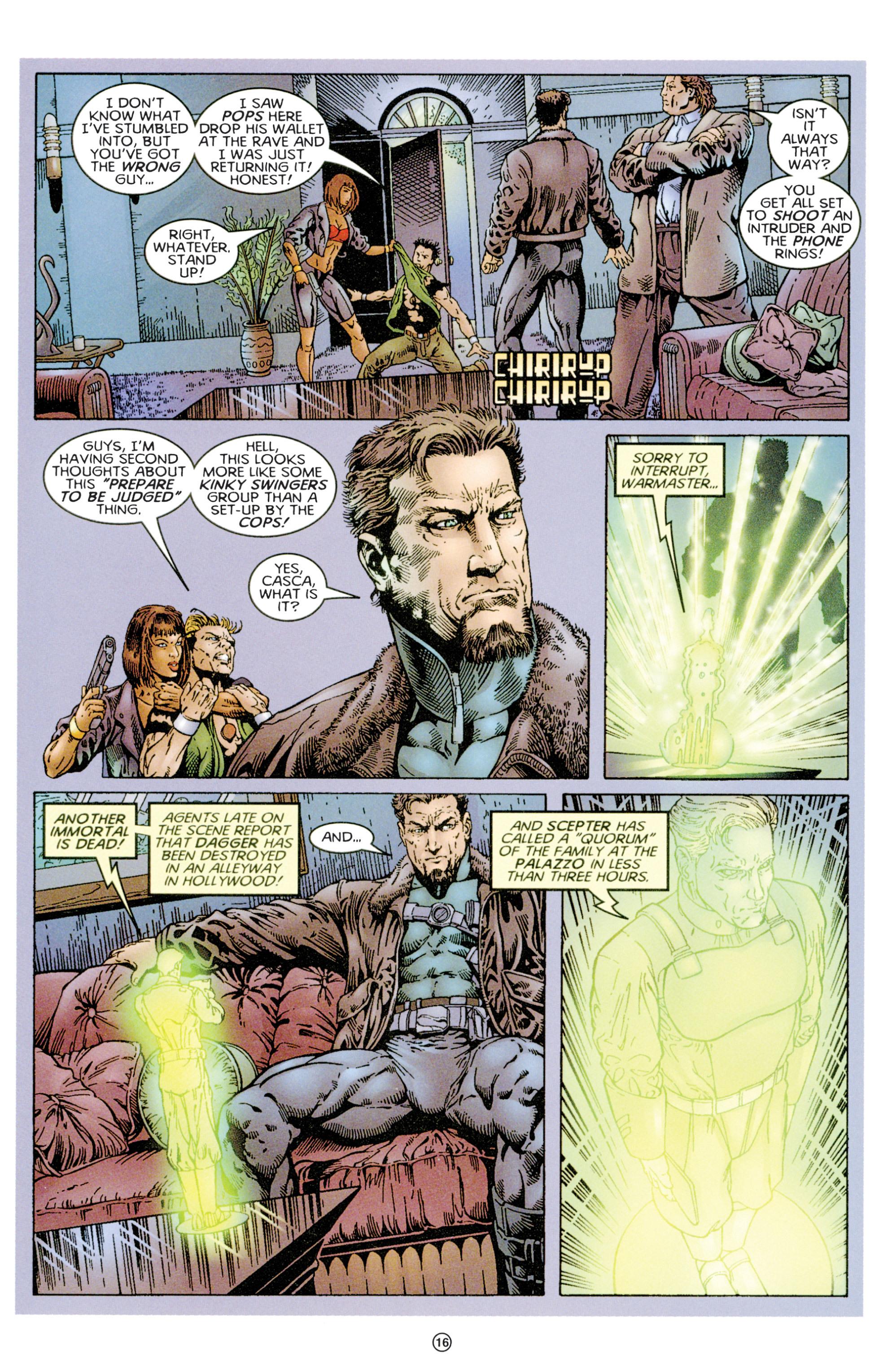 Read online Eternal Warriors comic -  Issue # Issue Time & Treachery - 15