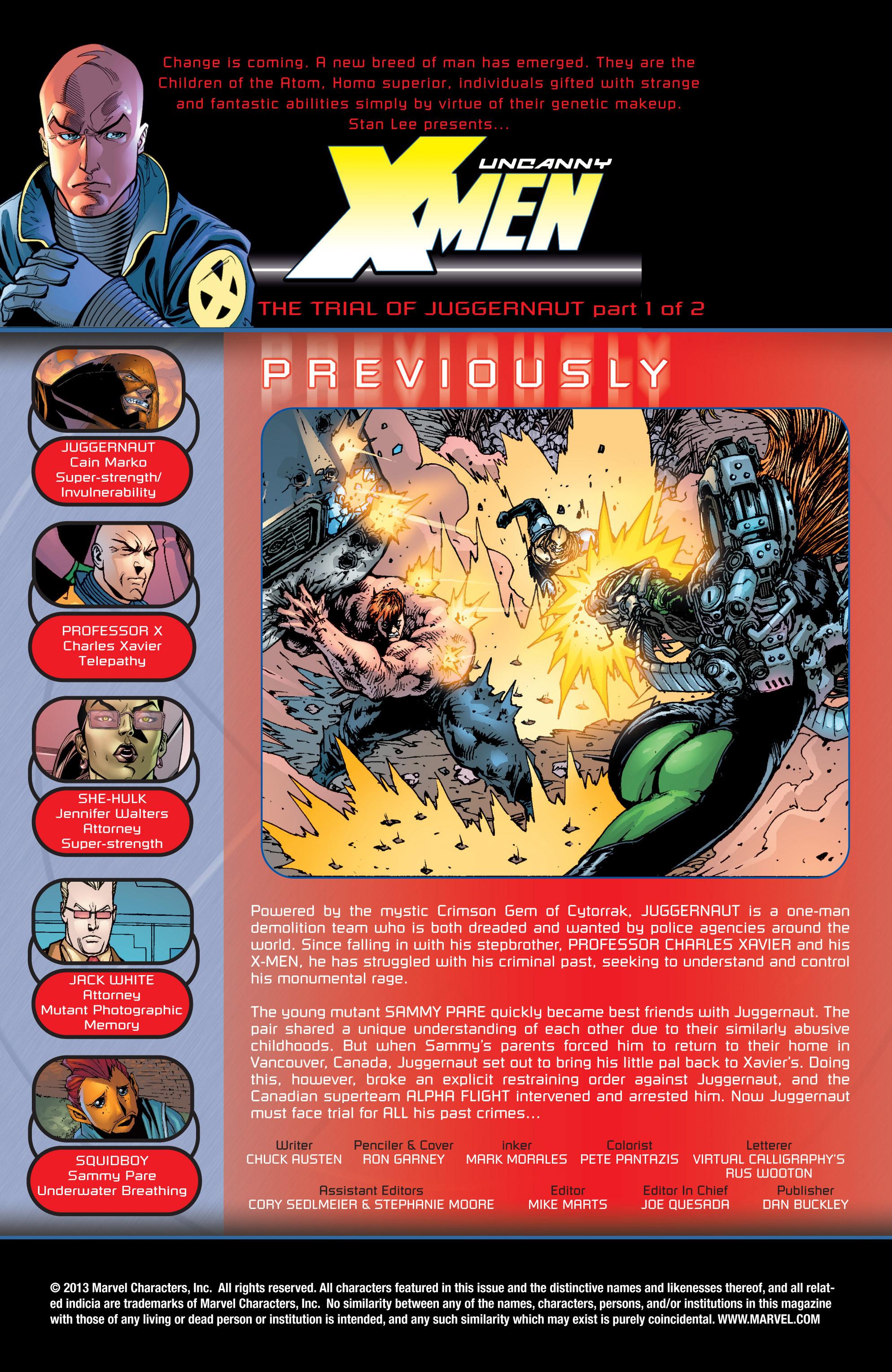 Read online Uncanny X-Men (1963) comic -  Issue #435 - 2