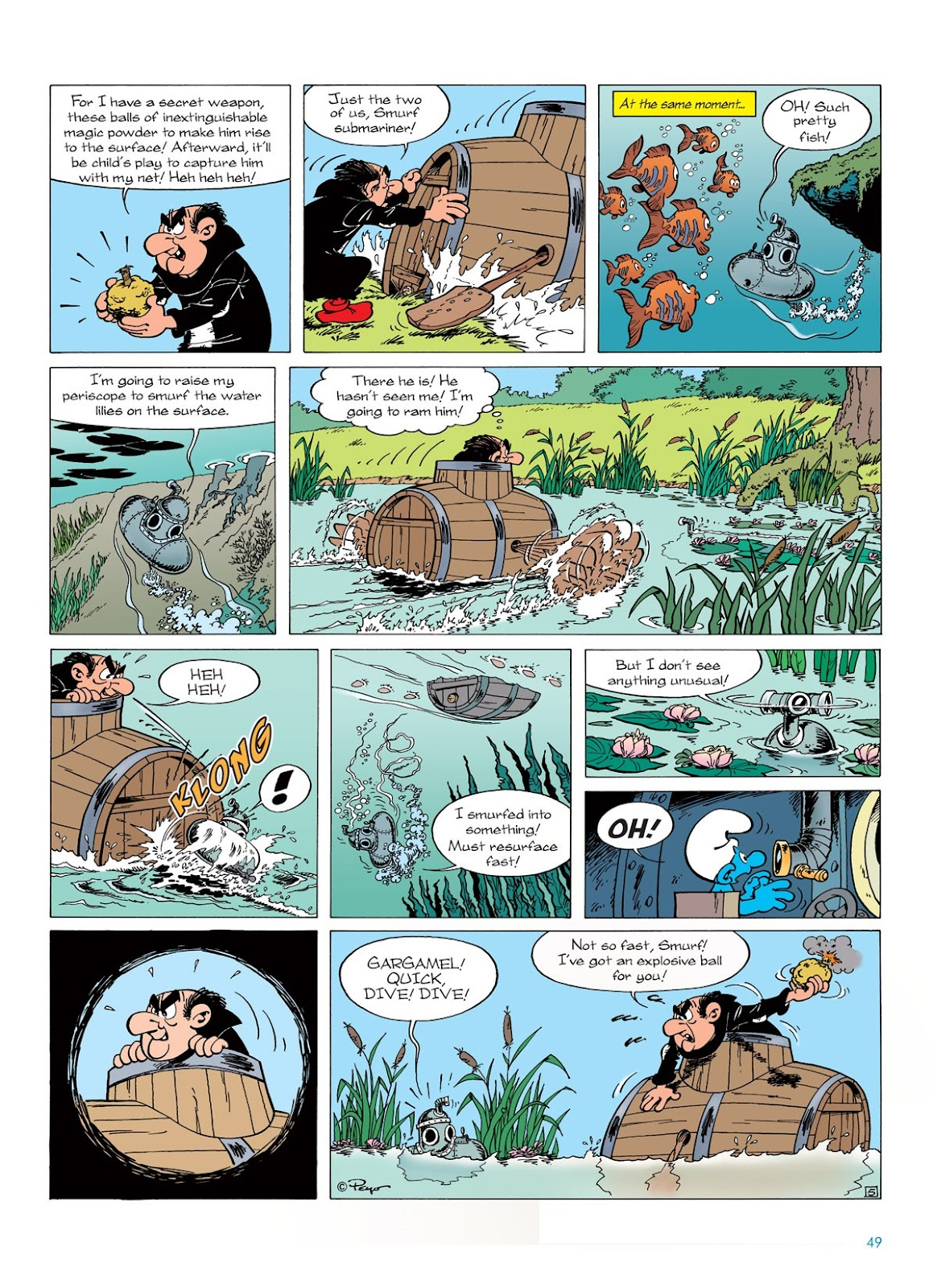 Read online The Smurfs comic -  Issue #7 - 49