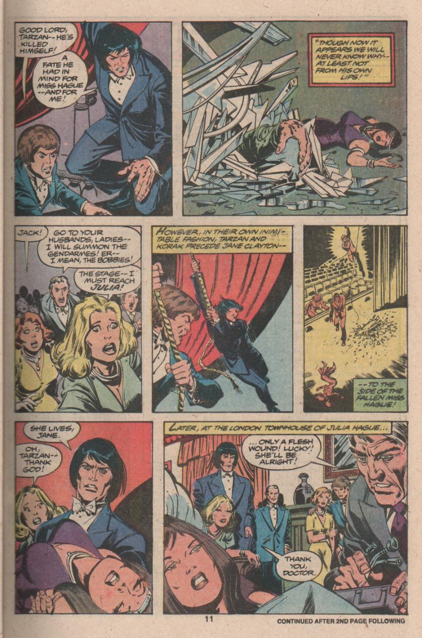 Read online Tarzan (1977) comic -  Issue # _Annual 3 - 10