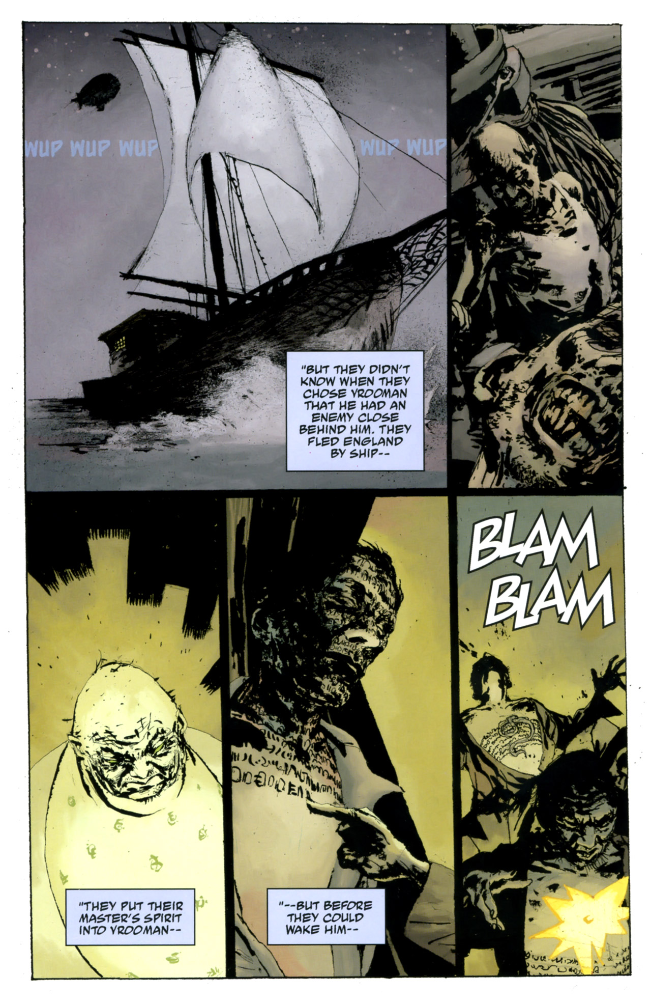 Read online Abe Sapien: The Drowning comic -  Issue #4 - 20
