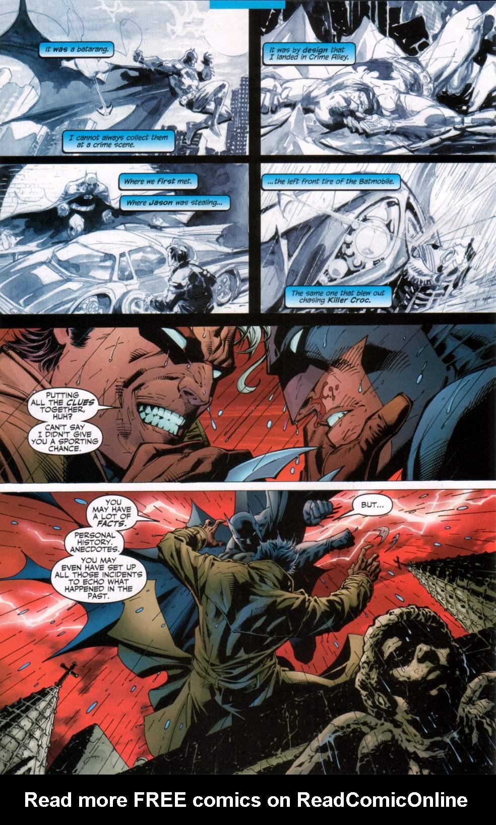Read online Batman: Hush comic -  Issue #11 - 12