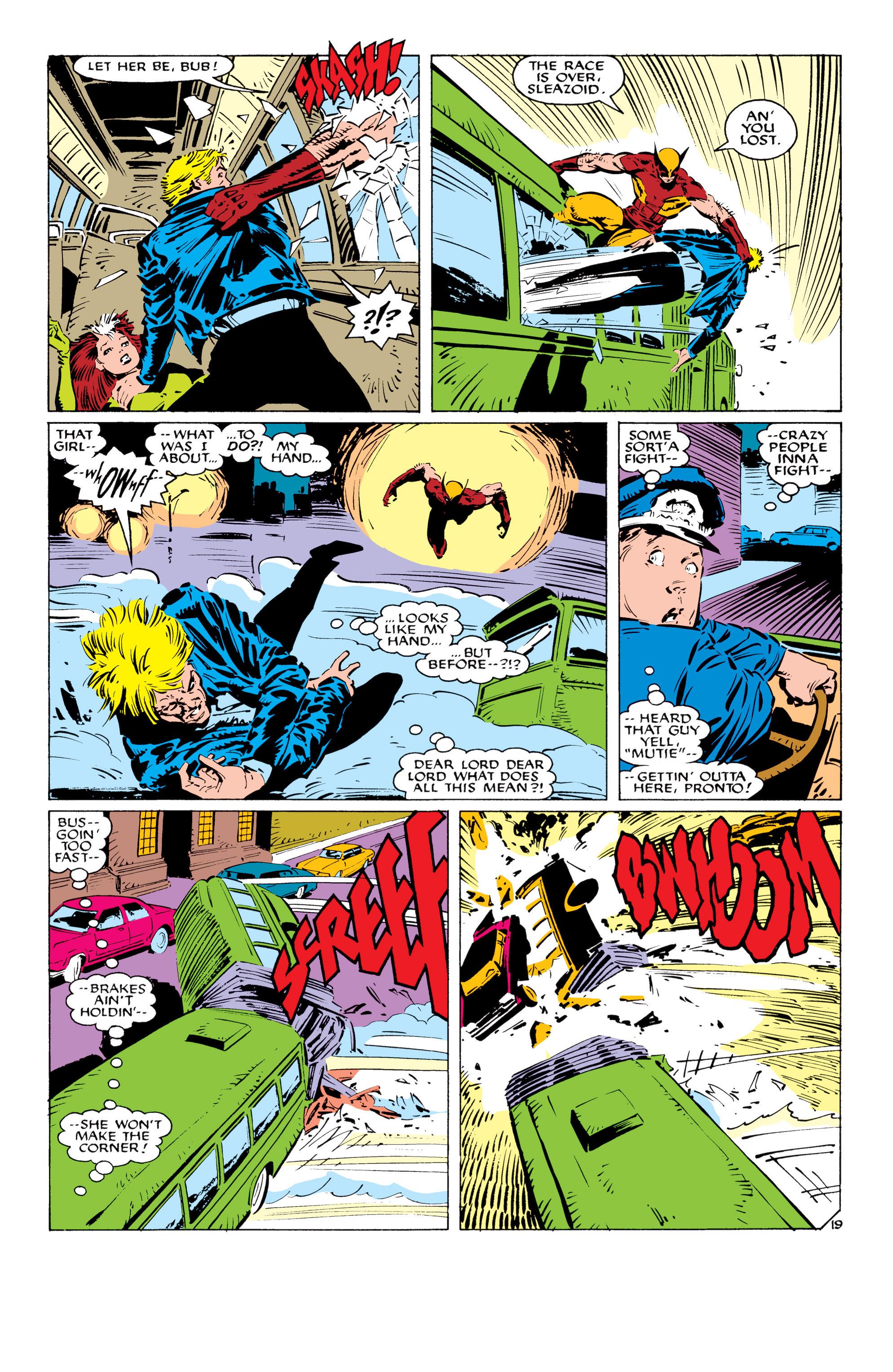 Read online Uncanny X-Men (1963) comic -  Issue #232 - 20
