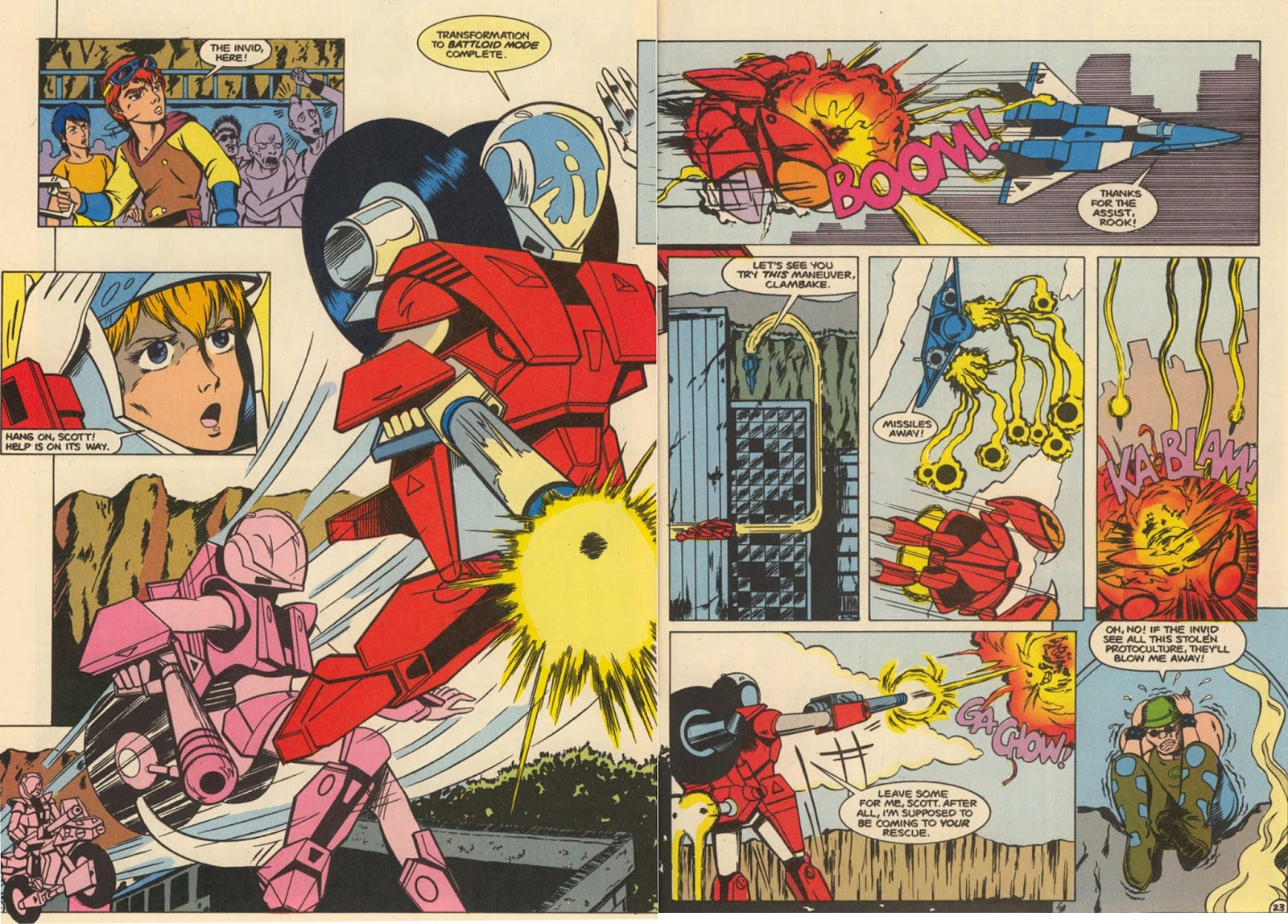 Robotech The New Generation issue 6 - Page 28