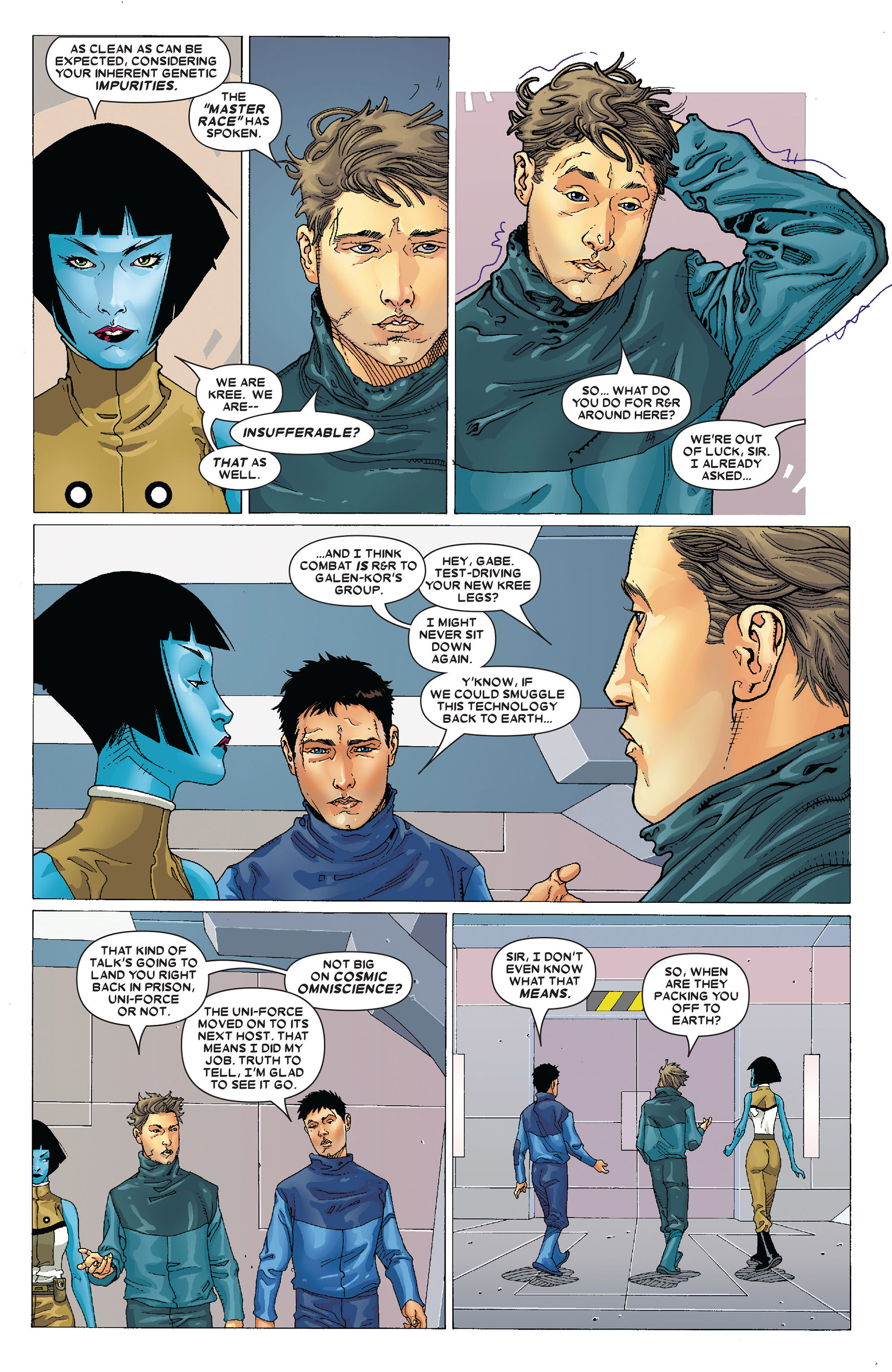 Read online Annihilation: Conquest - Starlord comic -  Issue #4 - 21