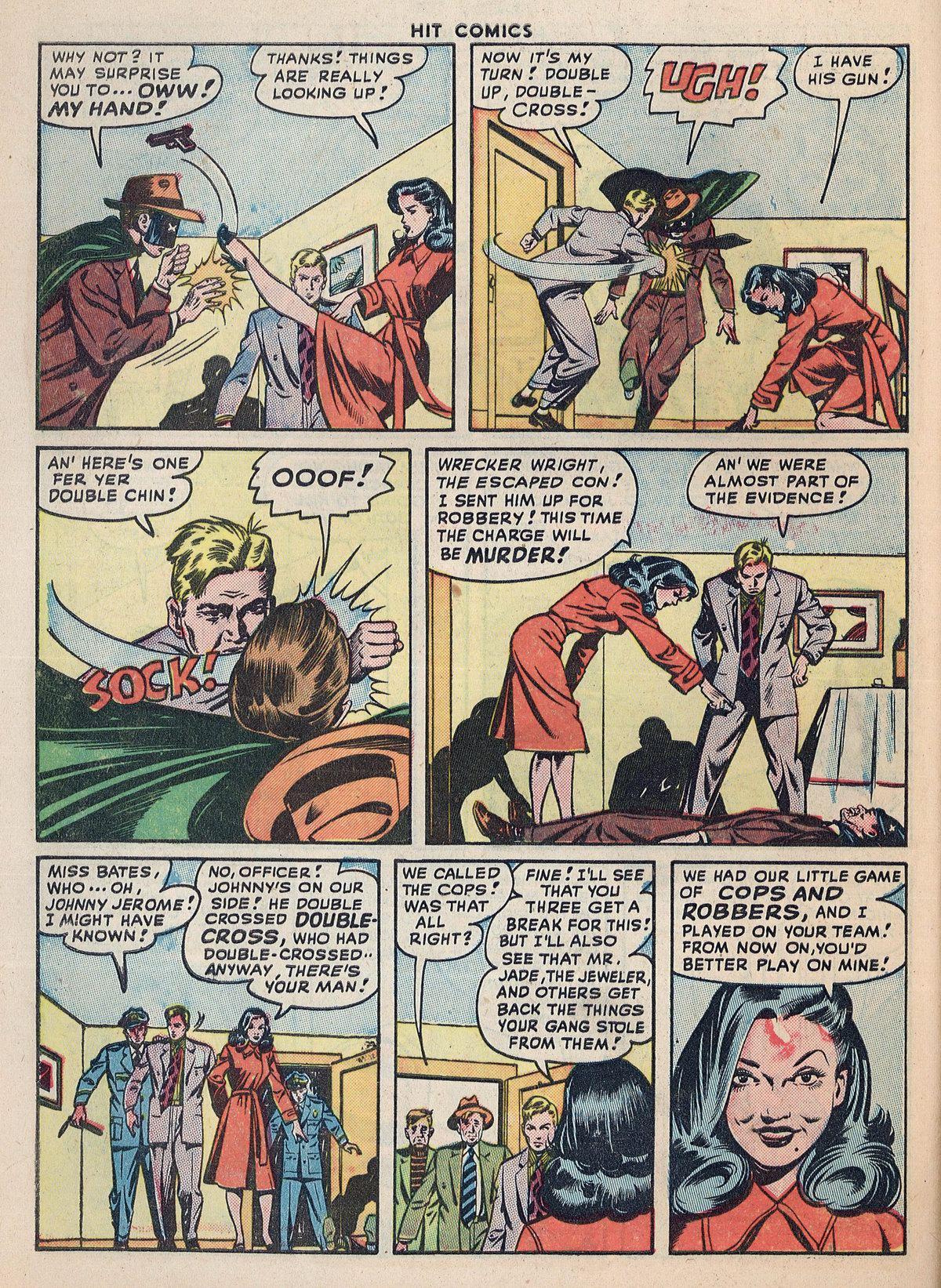 Read online Hit Comics comic -  Issue #55 - 44