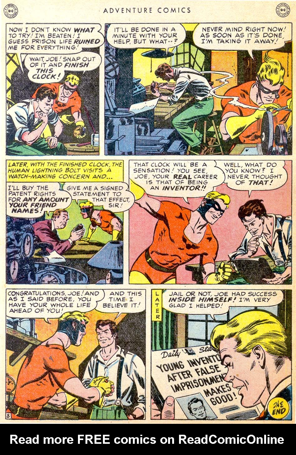 Read online Adventure Comics (1938) comic -  Issue #144 - 41