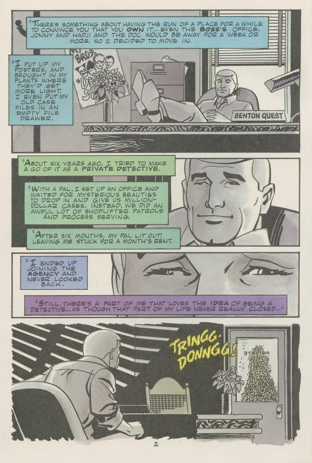 Jonny Quest (1986) issue 18 - Page 4