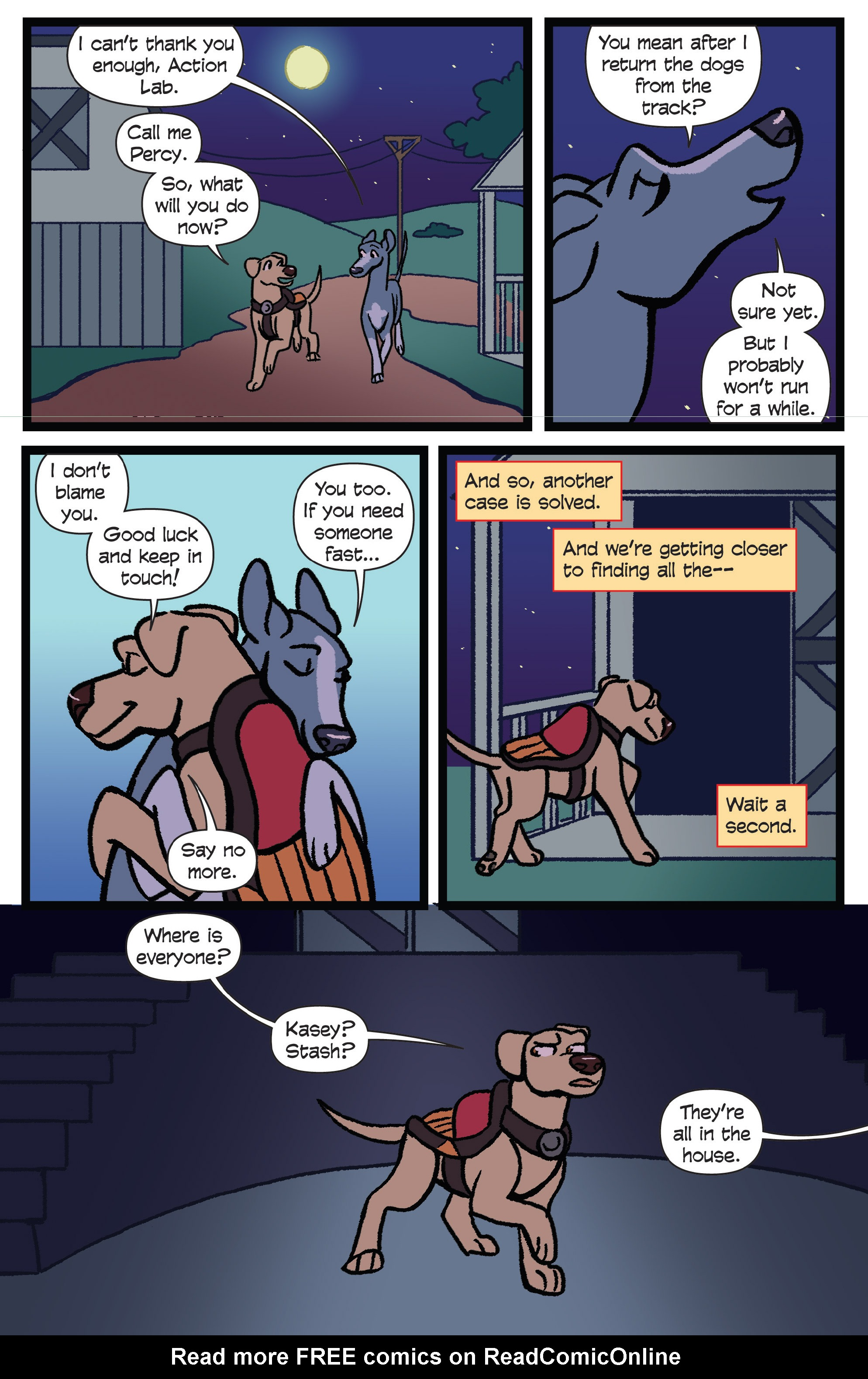 Read online Action Lab, Dog of Wonder comic -  Issue #5 - 20