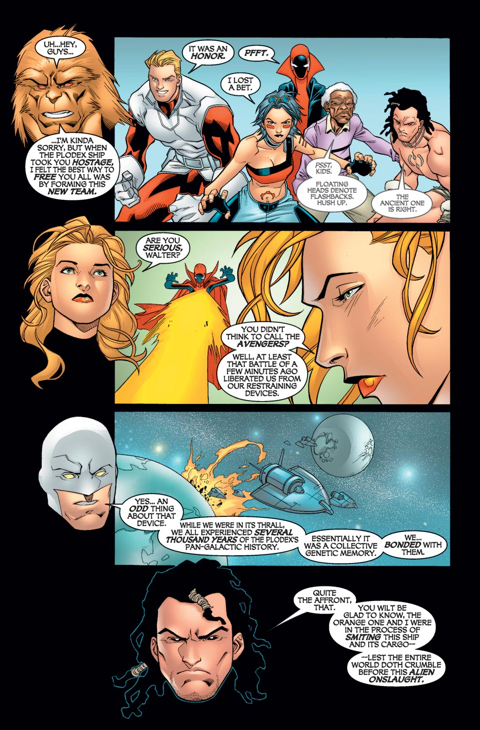 Alpha Flight (2004) issue 6 - Page 16