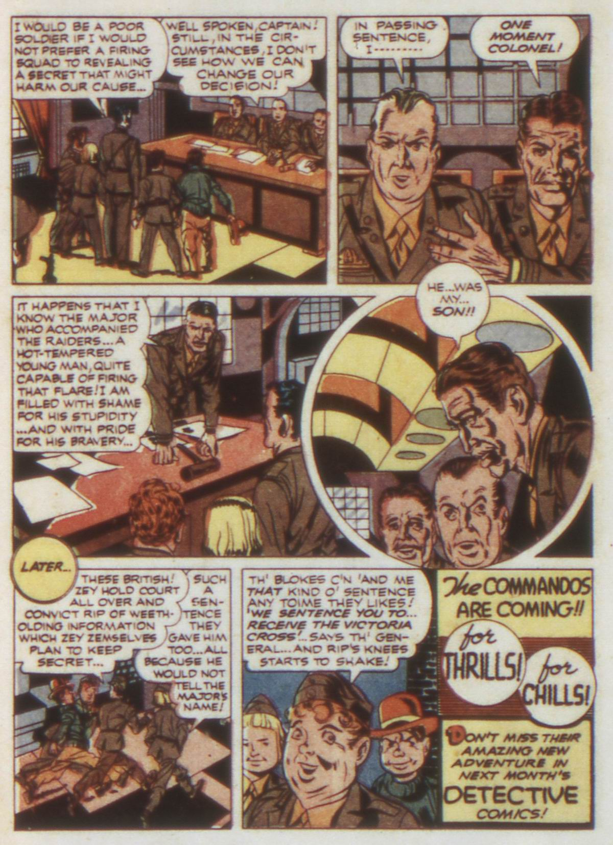 Read online Detective Comics (1937) comic -  Issue #74 - 28
