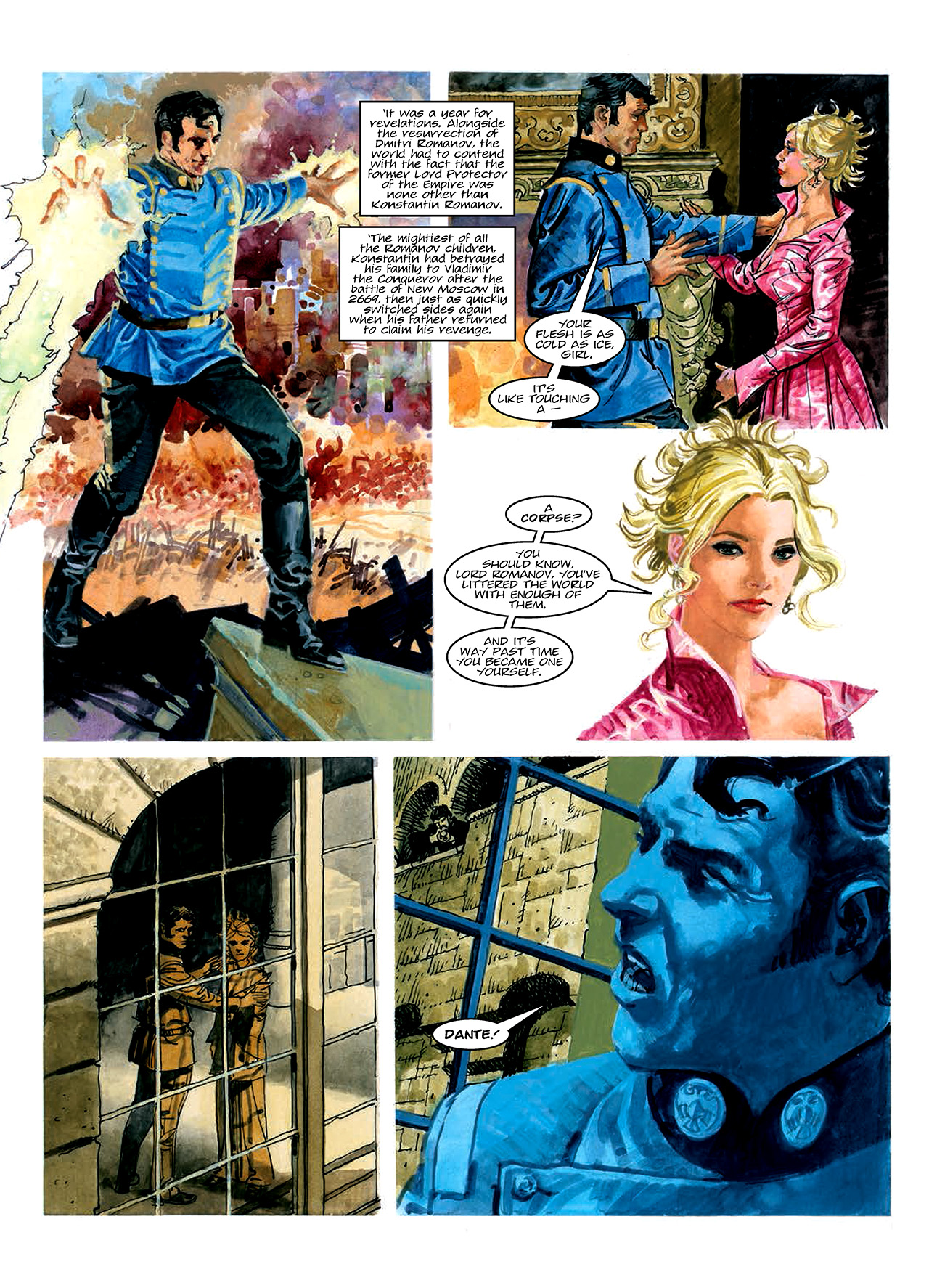 Read online Nikolai Dante comic -  Issue # TPB 10 - 166